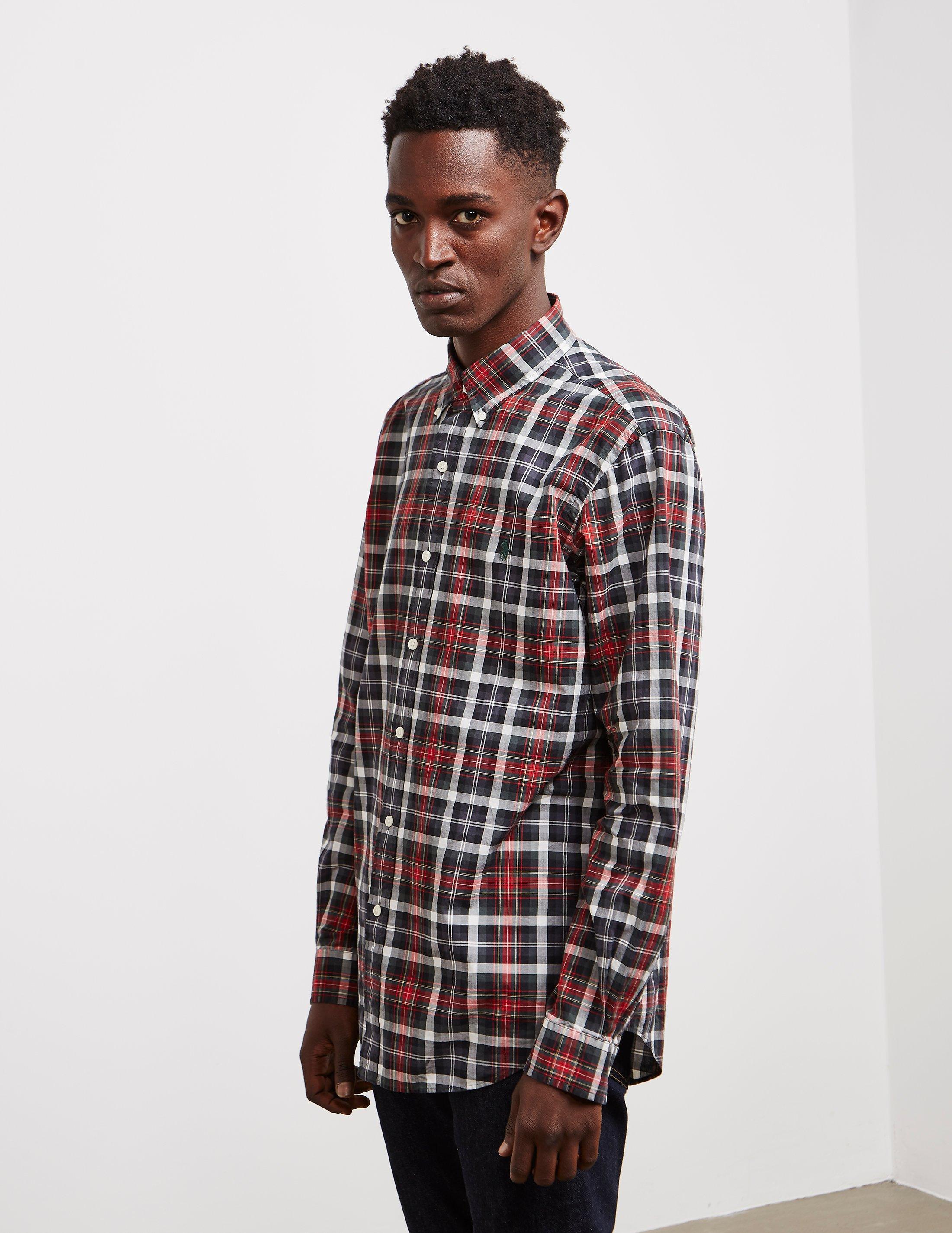 3e2cf2c99caae3 Lyst - Polo Ralph Lauren Mens Check Long Sleeve Shirt - Online ...