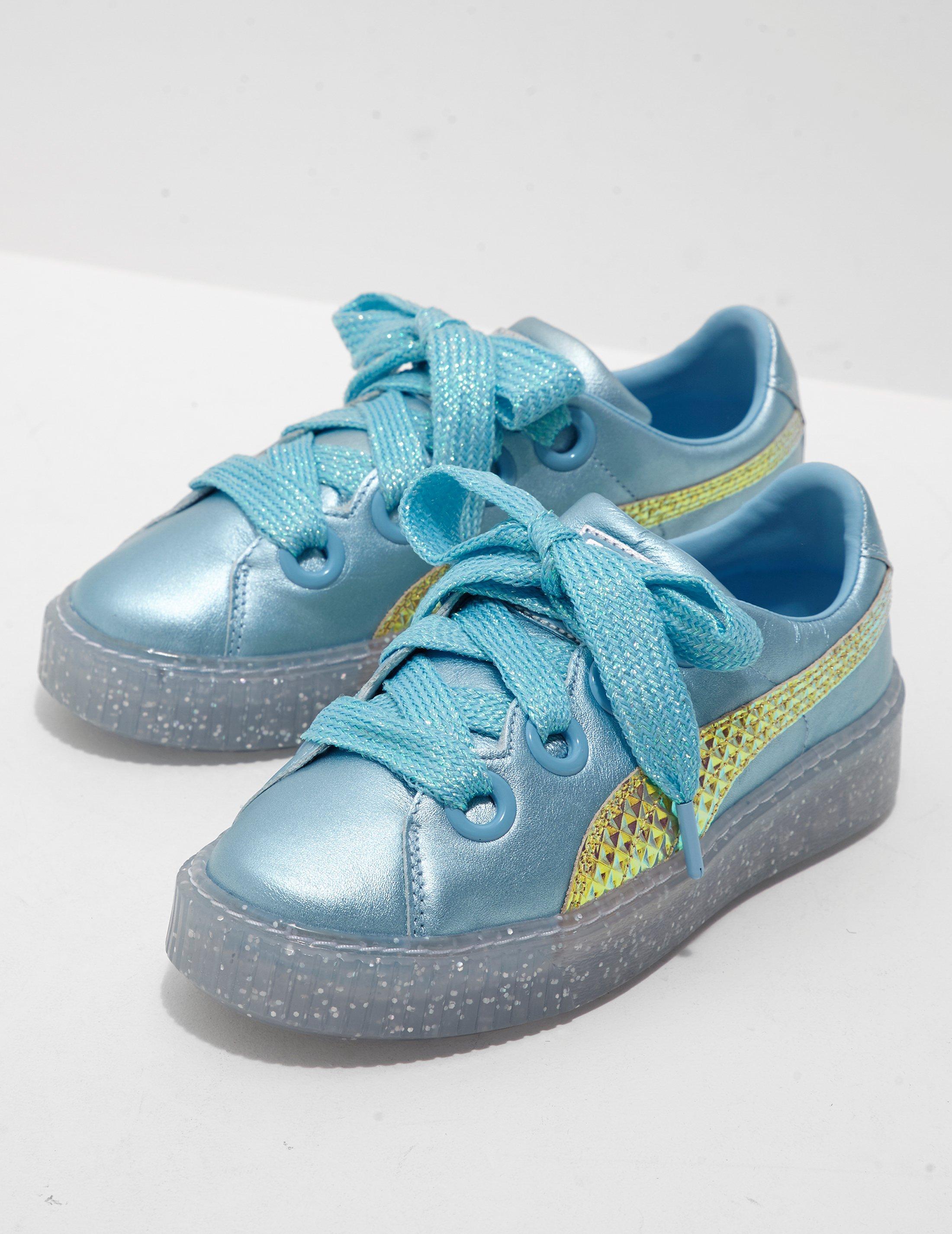 87a438ce8ca60b Lyst - PUMA X Sophia Webster Glitter Princess Trainers Blue in Blue ...