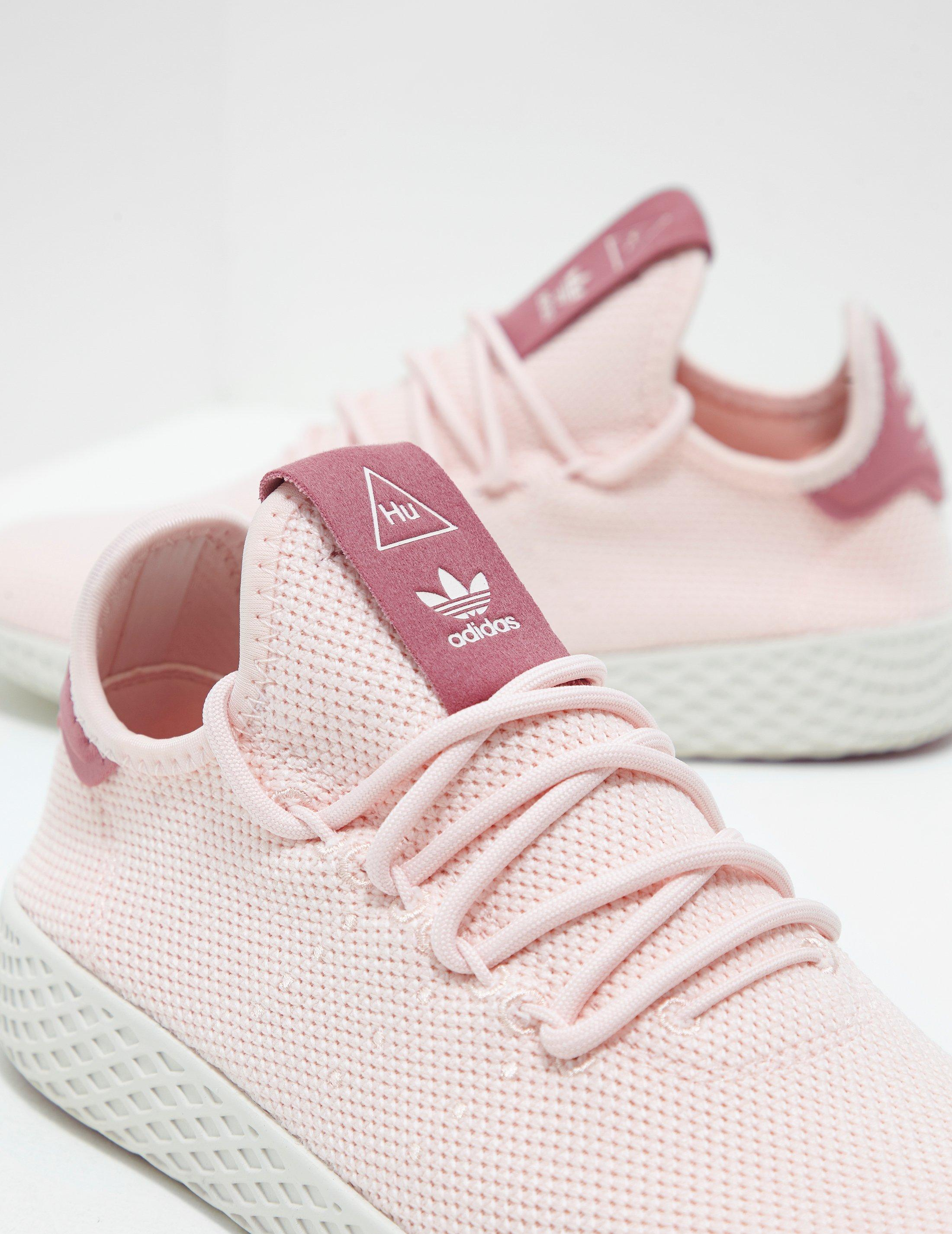0bdb978d5bb14 adidas Originals X Pharrell Williams Tennis Hu Trainers Pink in Pink - Save  42% - Lyst