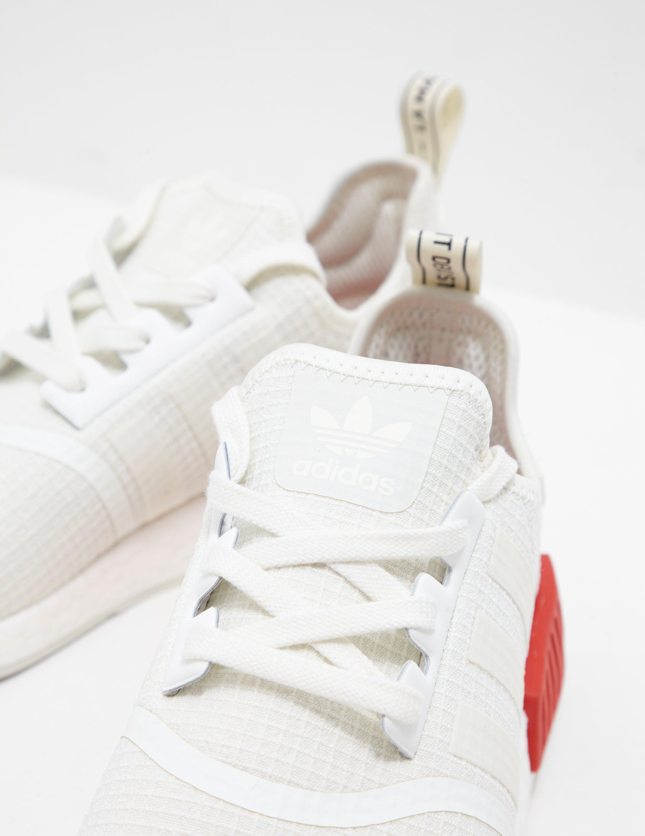 2df844cdb adidas Originals Nmd R1 Ripstop White in White for Men - Lyst