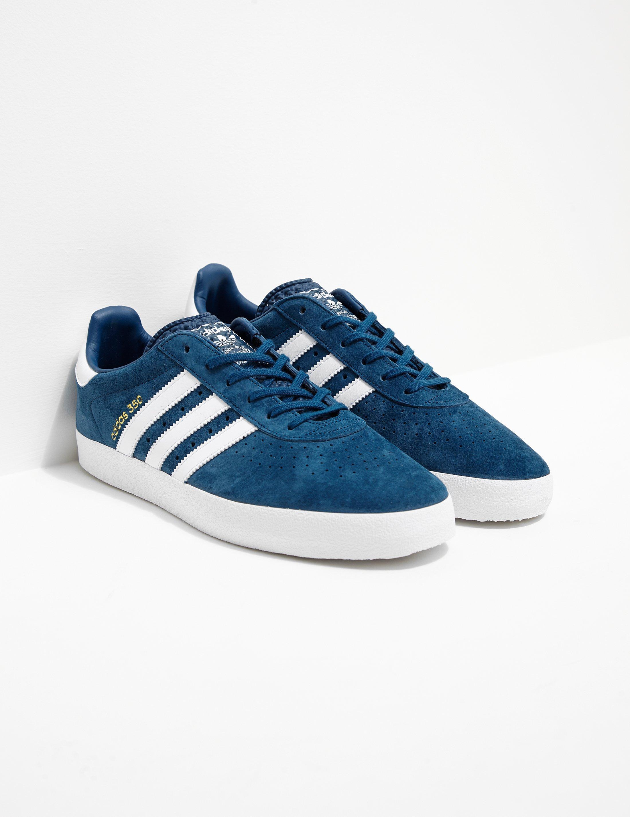 9f5a4b4fadc1 adidas Originals Mens 350 Suede Blue in Blue for Men - Lyst