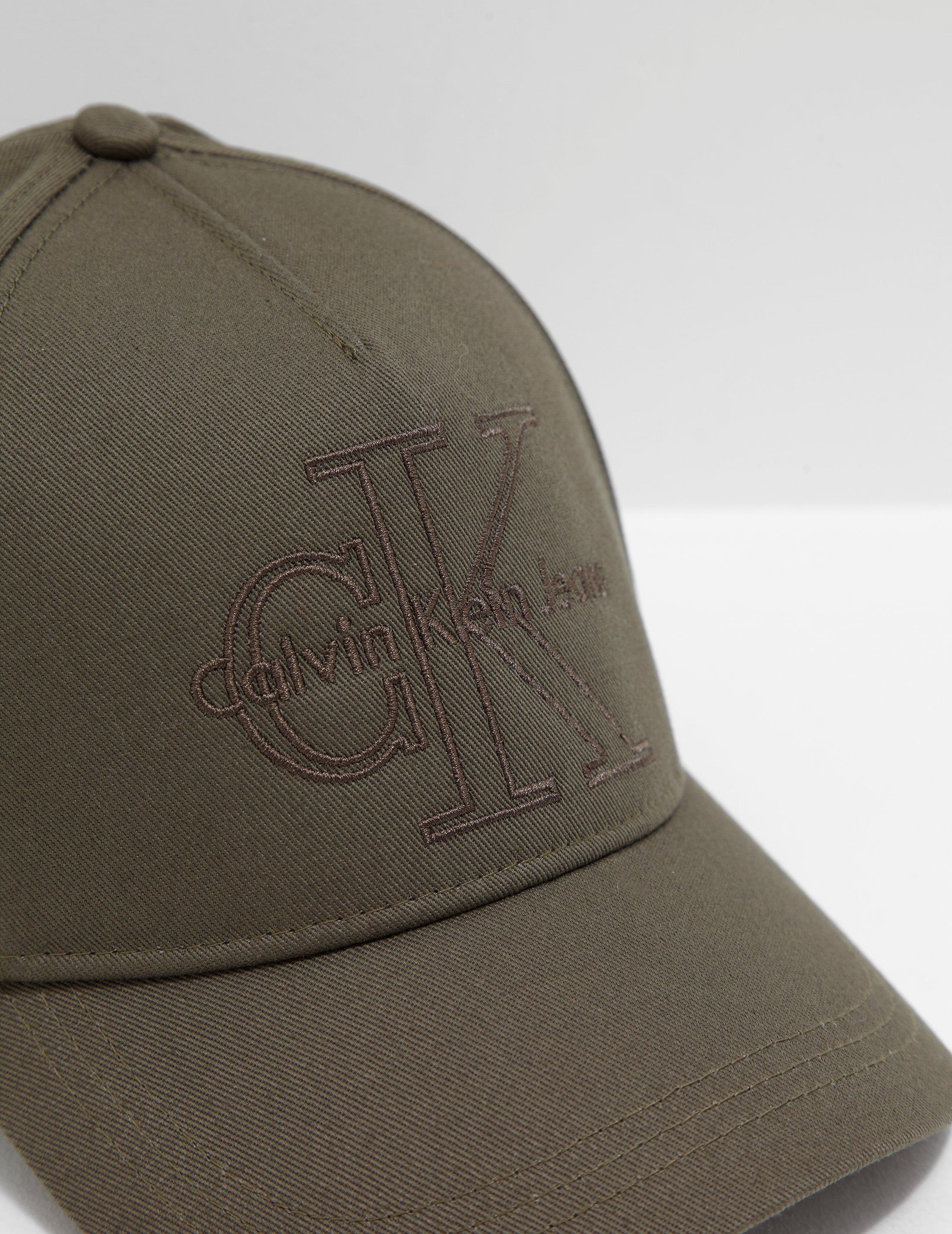 46010729320 Lyst - Calvin Klein Mens Reissue Cap Khaki in Natural for Men