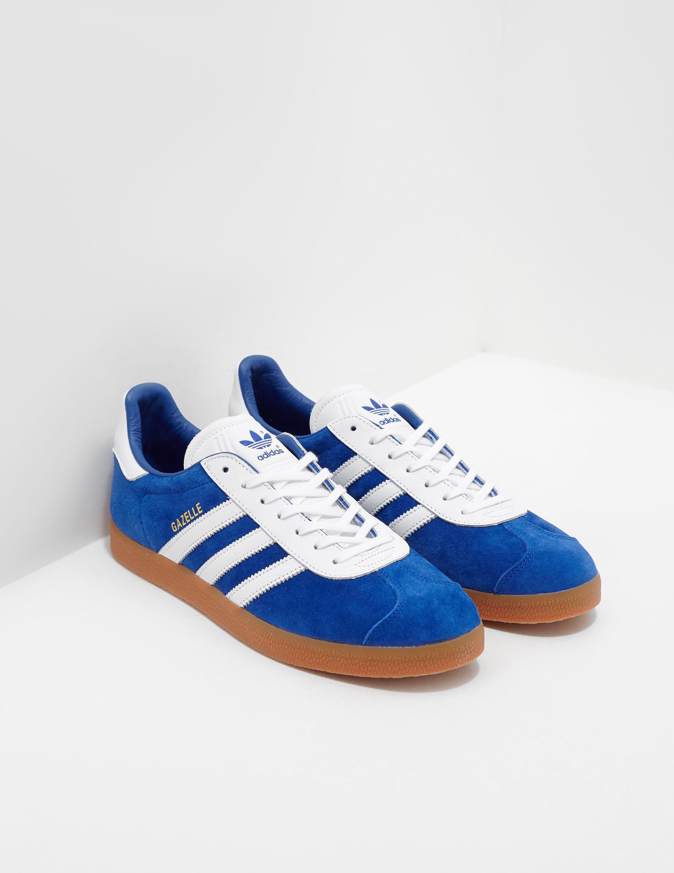 timeless design f2b92 3f5d0 adidas Originals. Mens Gazelle Blue