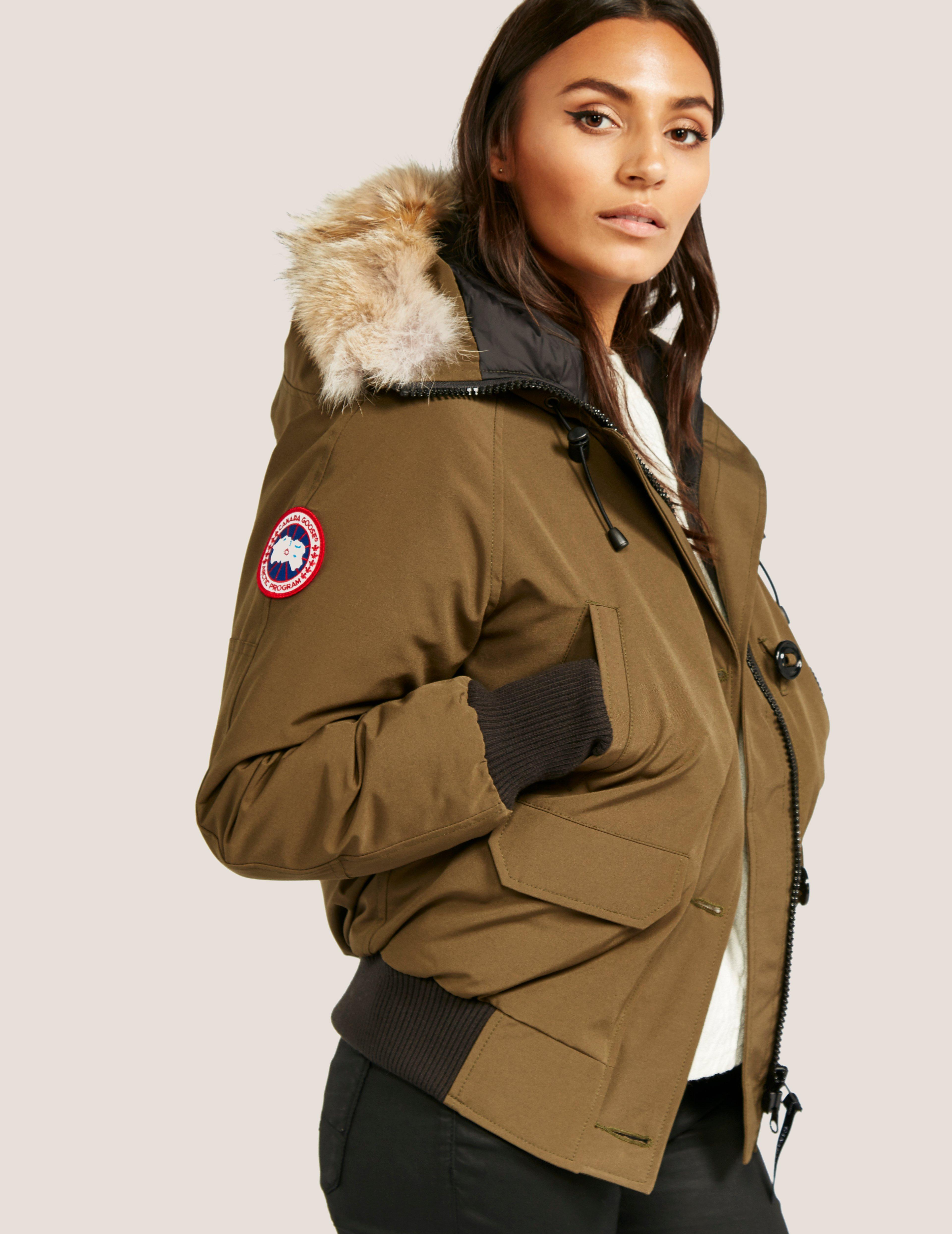 Gallery. Previously sold at  Tessuti UK · Women s Canada Goose Chilliwack  Women s Embroidered Bomber ... cbbfcff05