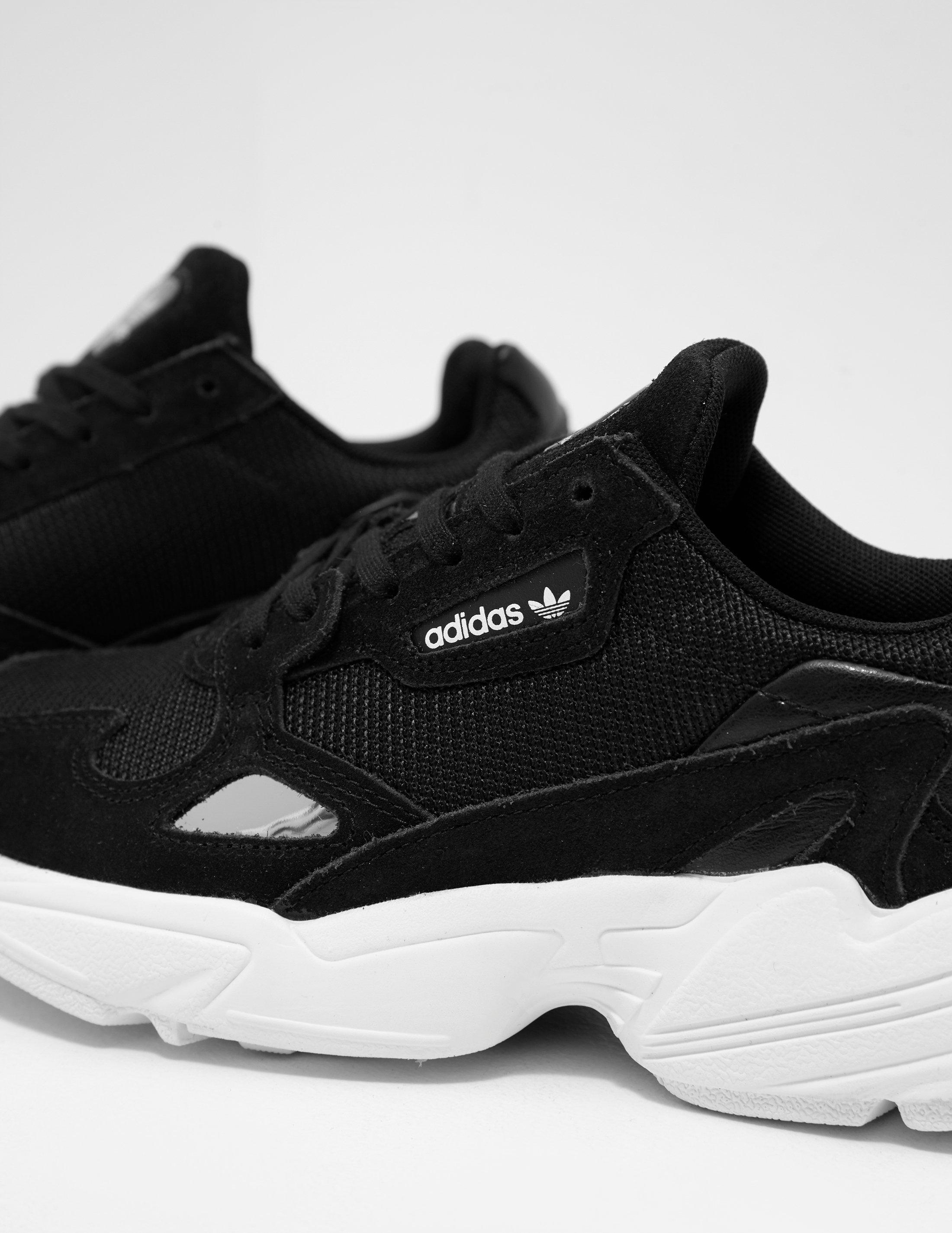30a10b3e52a Lyst - adidas Originals Womens Falcon Women s Black in Black