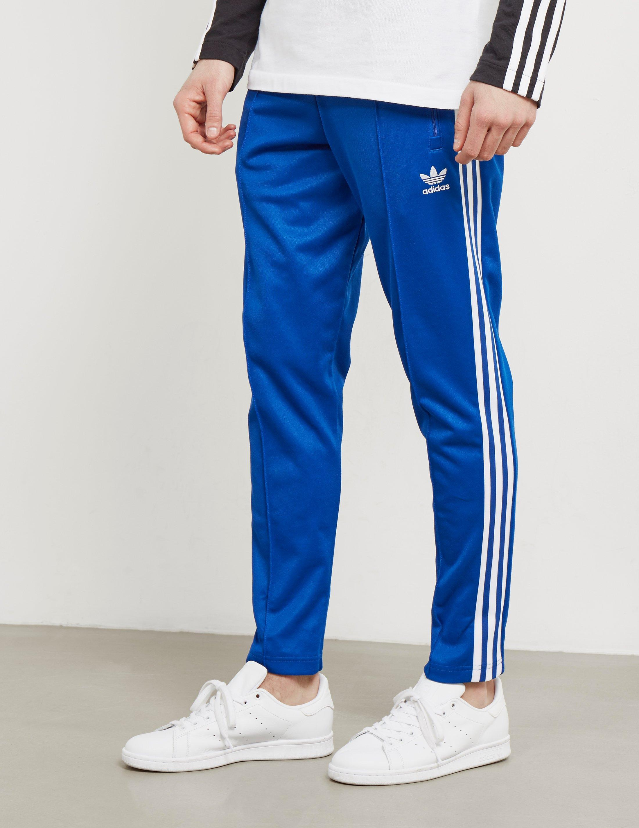 adidas Originals Cotton Mens Beckenbauer Cuffed Track Pants