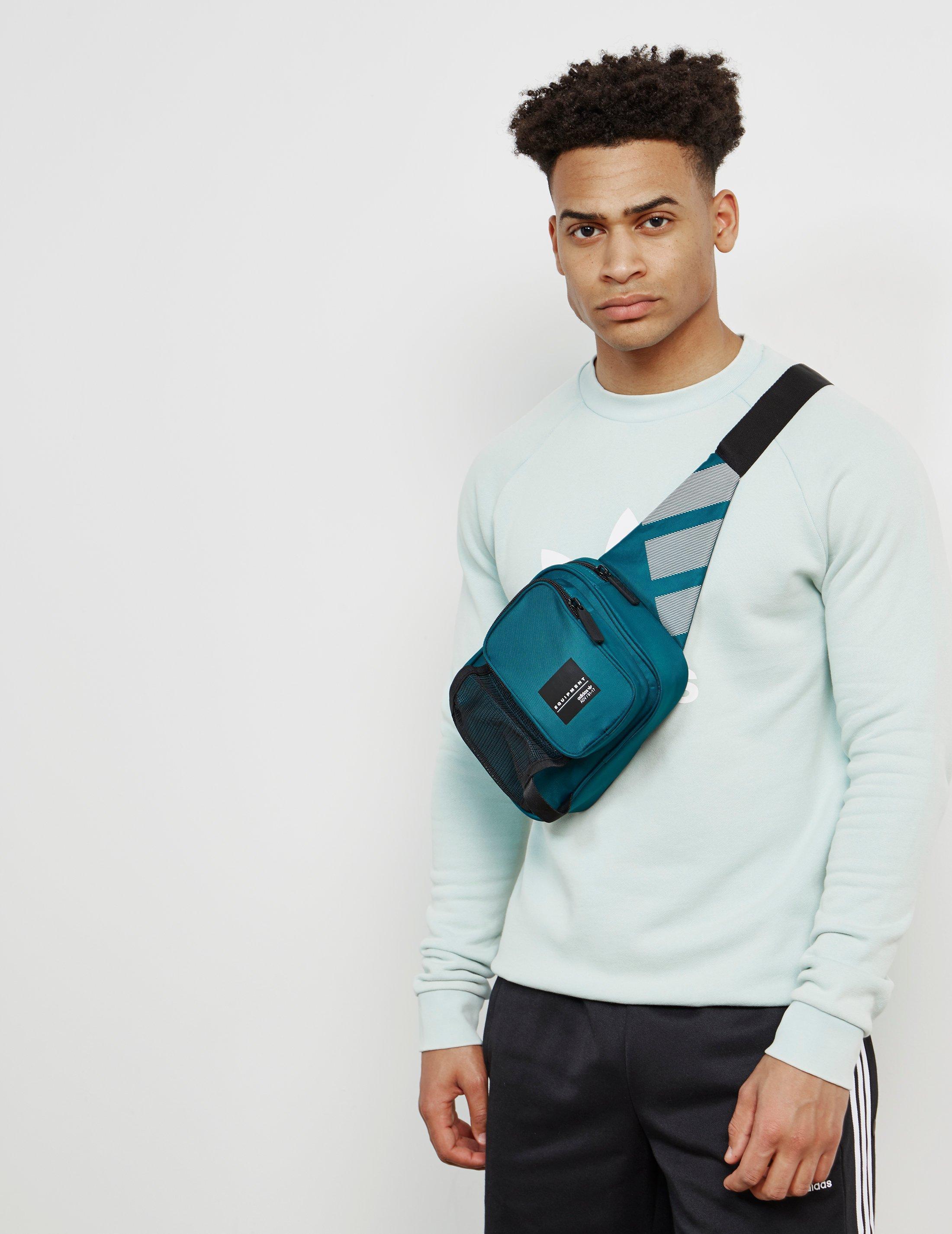 2aad7d7cdcd1 Lyst - adidas Originals Mens Eqt Side Bag Green in Green for Men