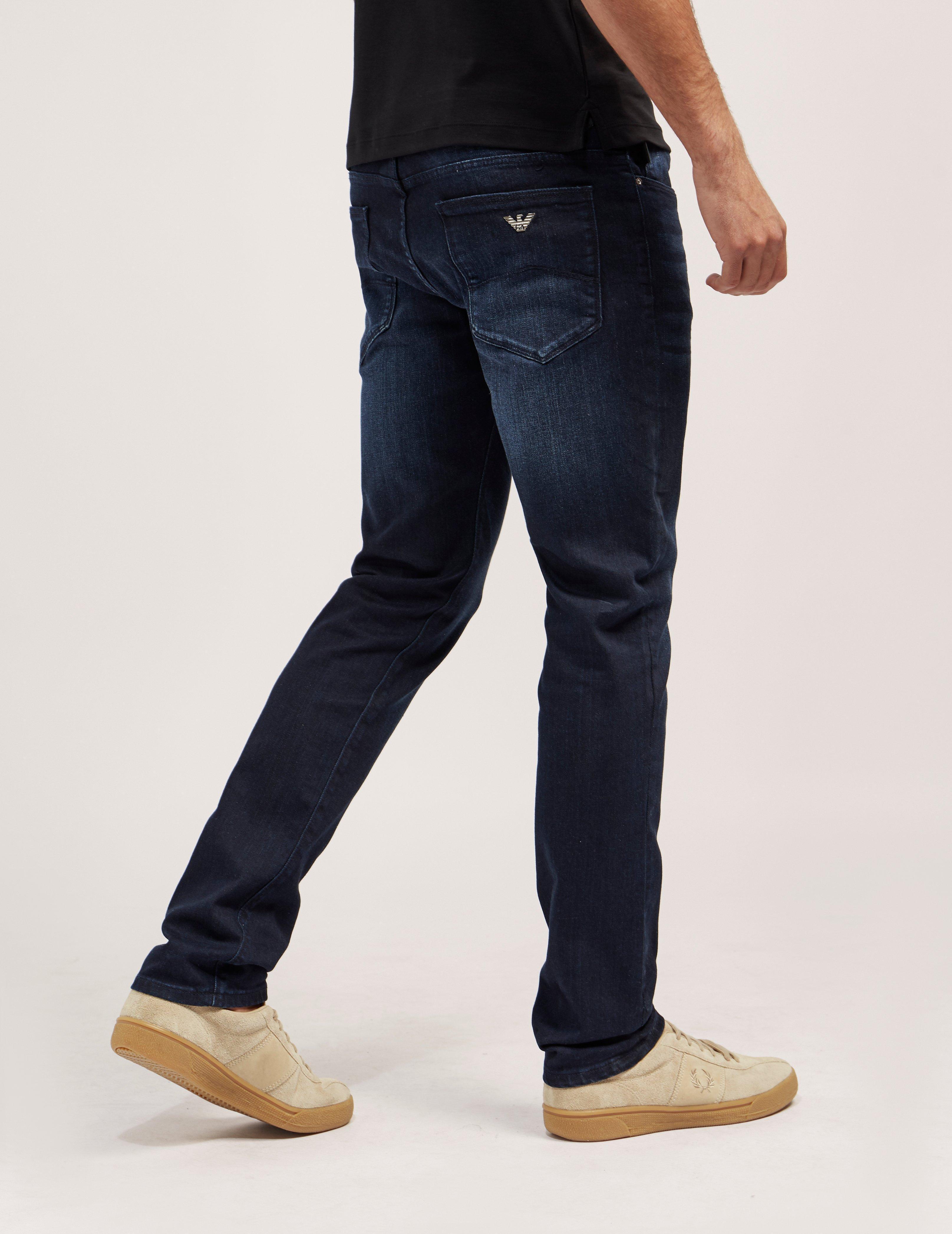 654af2e1f63d Gallery. Previously sold at  Tessuti UK · Men s Distressed Jeans Men s  Black Skinny ...