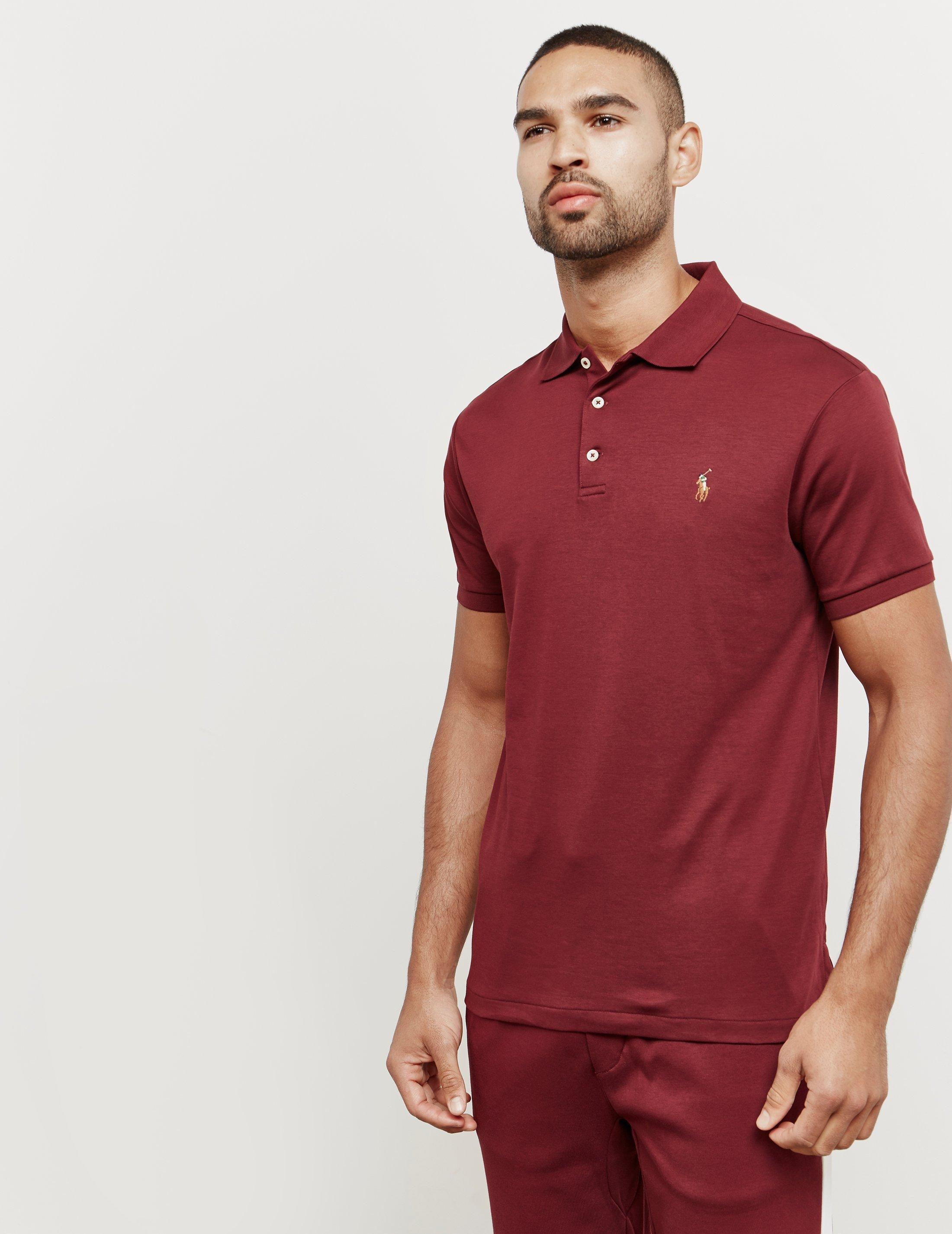 617343a5 Lyst - Polo Ralph Lauren Pima Short Sleeve Polo Shirt Red in Red for Men