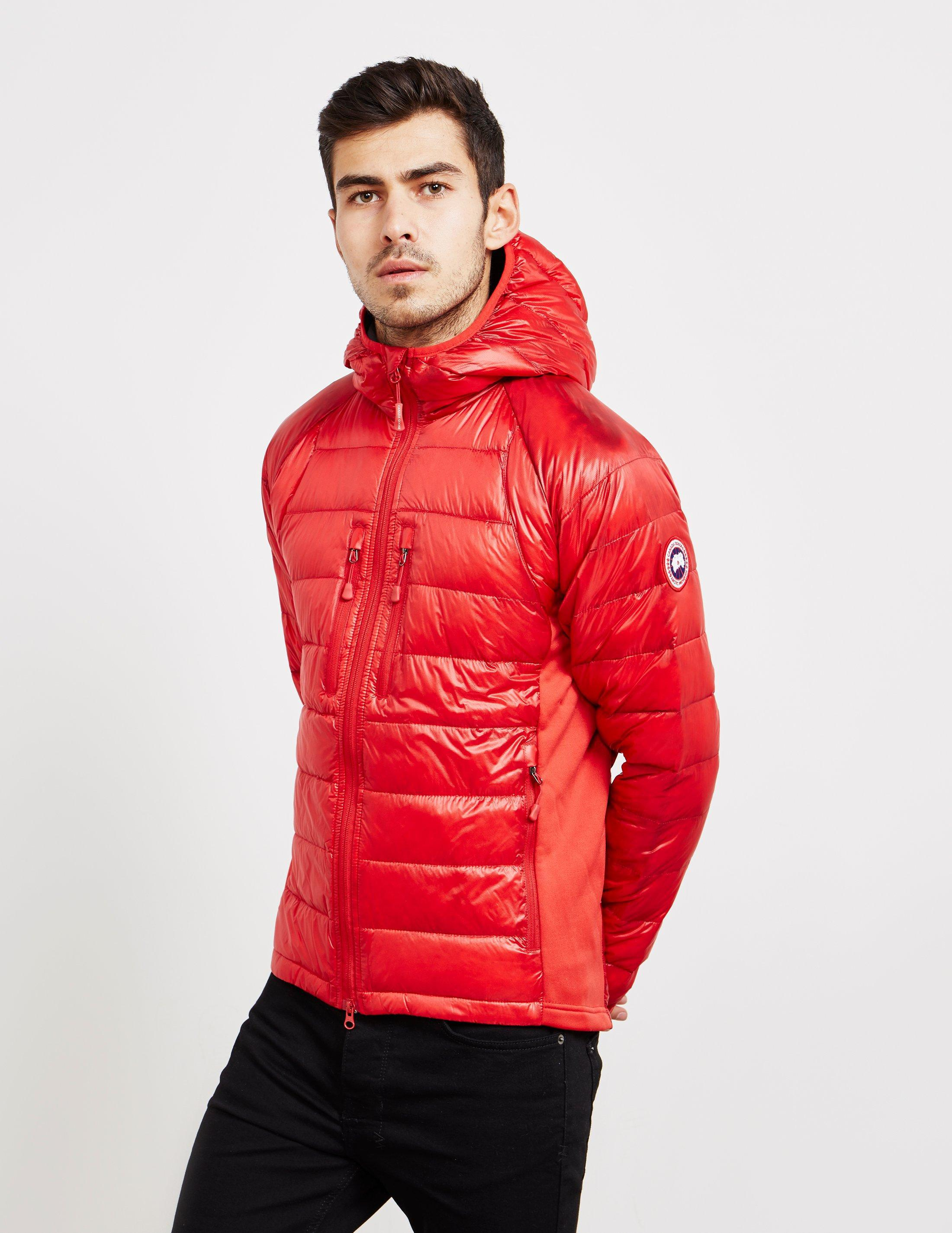 7b156161bb17 Canada Goose Mens Hybridge Lightweight Jacket Red in Red for Men - Lyst