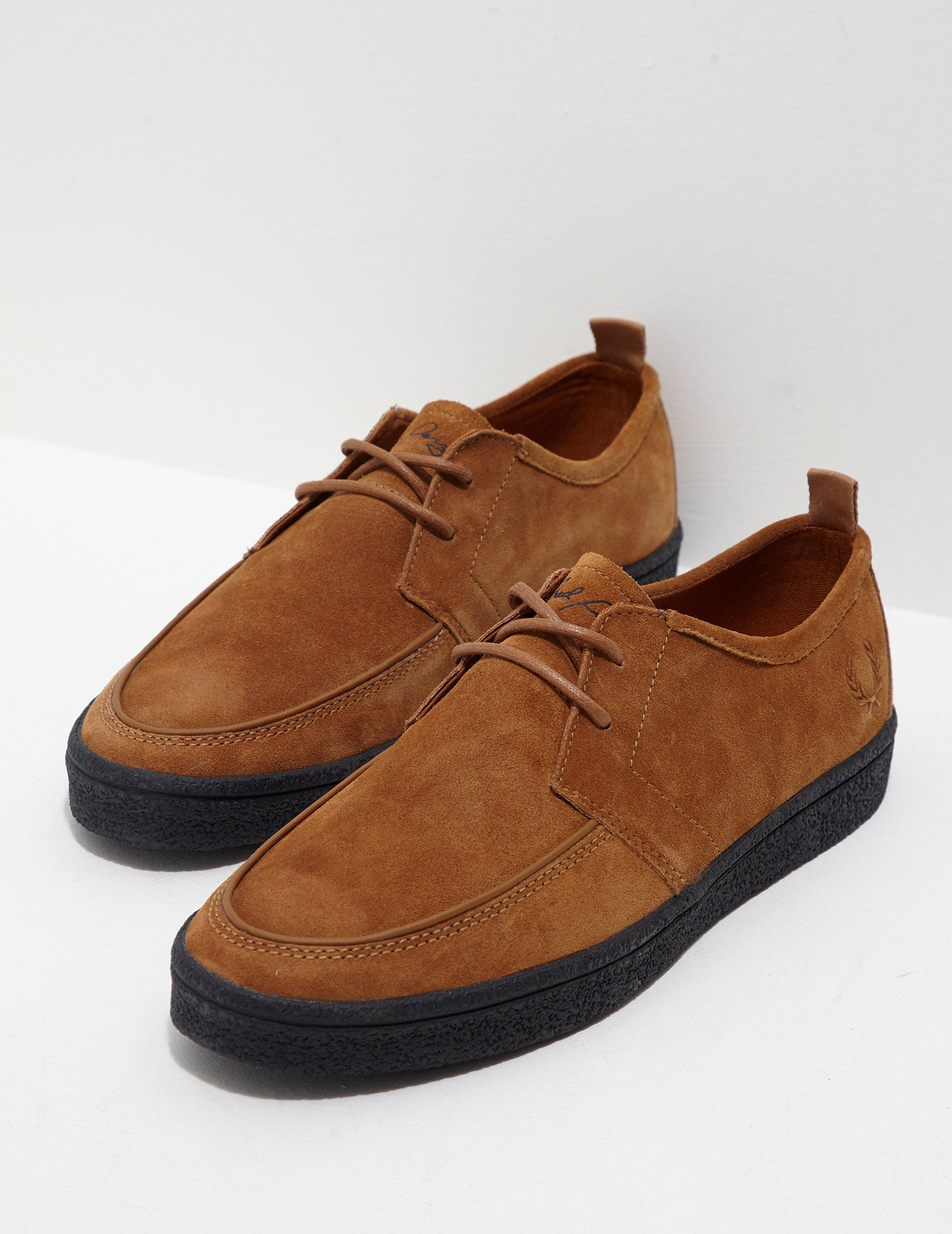 Fred Perry. Mens Shields Crepe Brown ...