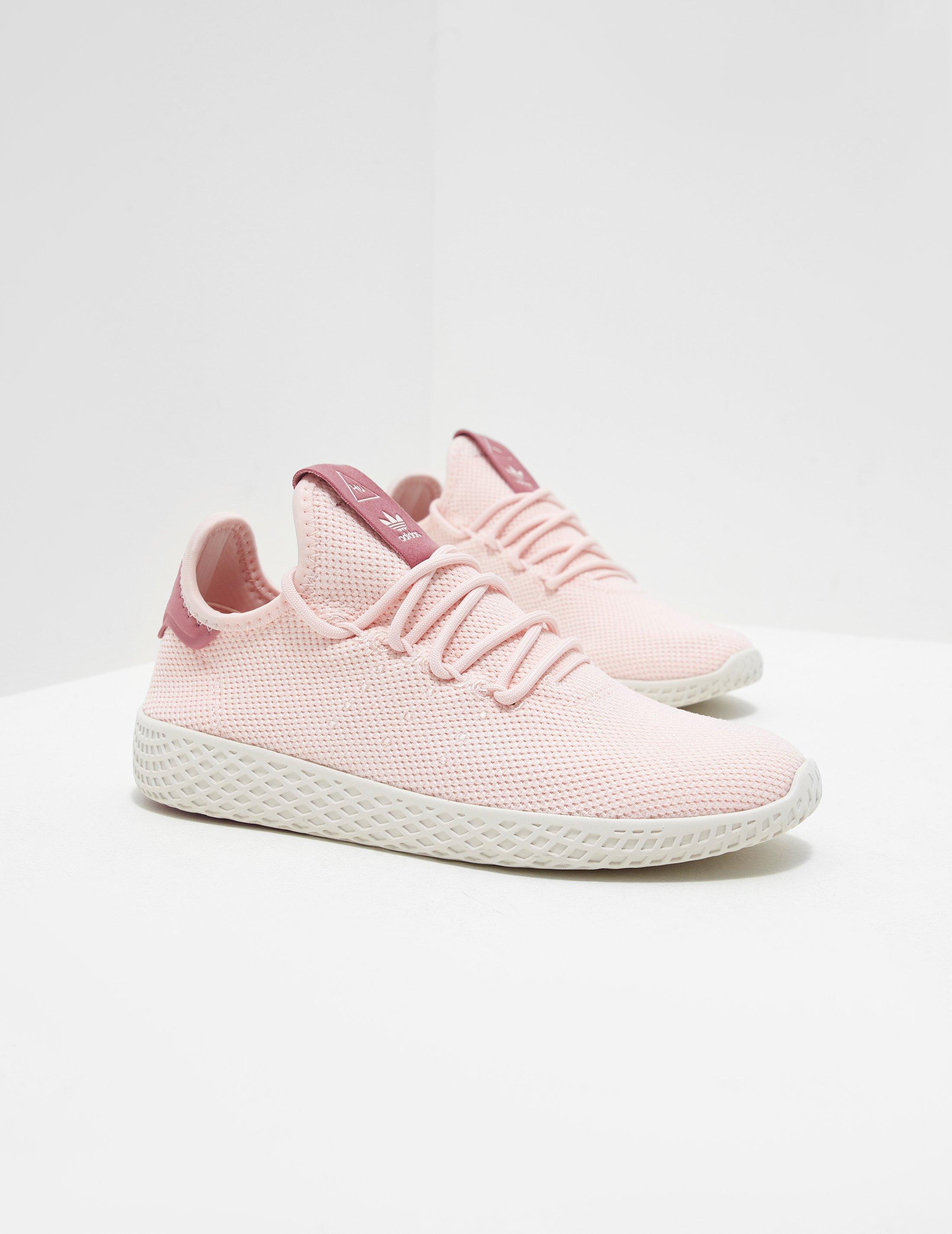 7de0c104f5591 adidas Originals X Pharrell Williams Tennis Hu Trainers Pink in Pink ...