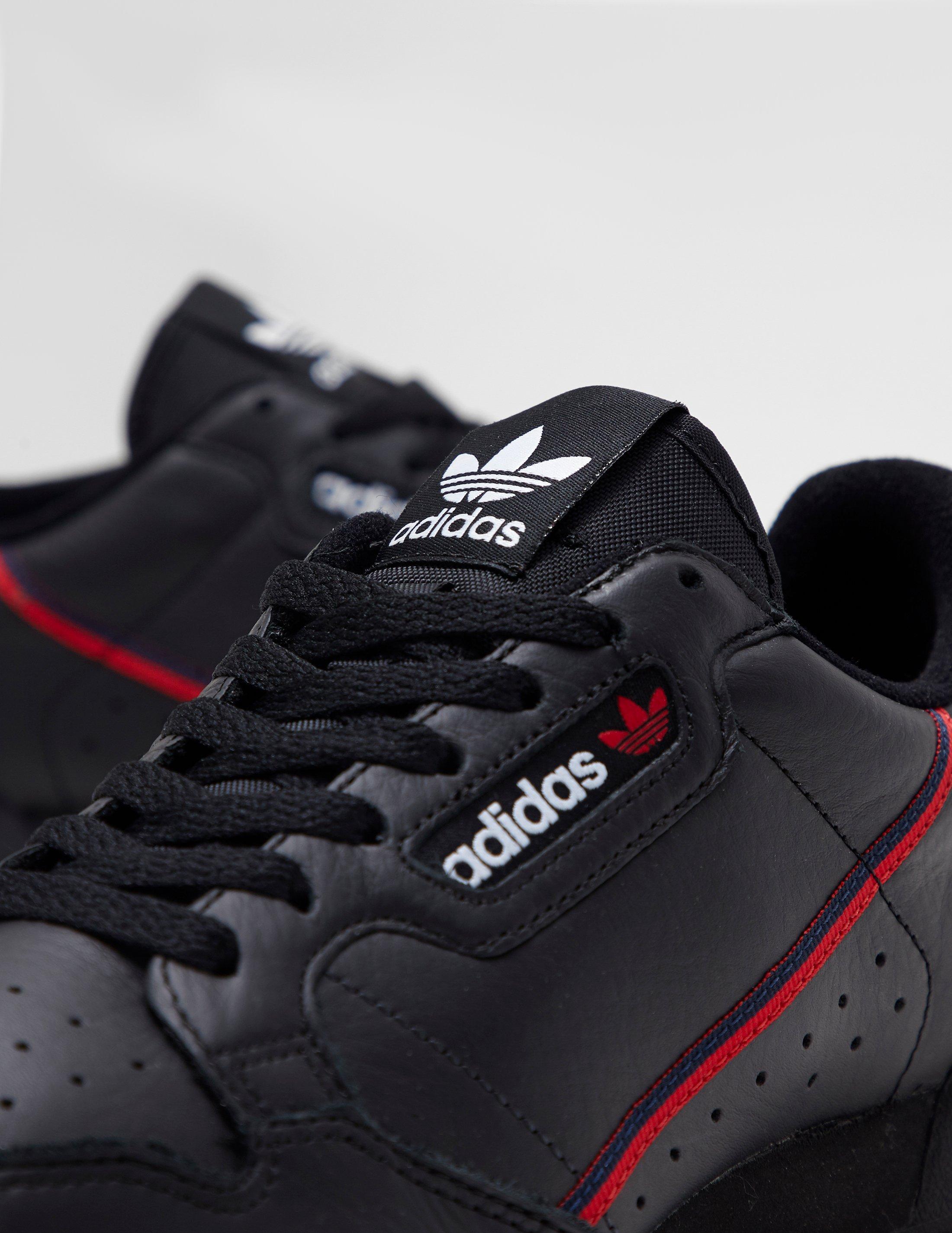 big sale 8ae57 fac62 Lyst - adidas Originals Continental 80 Black in Black for Me