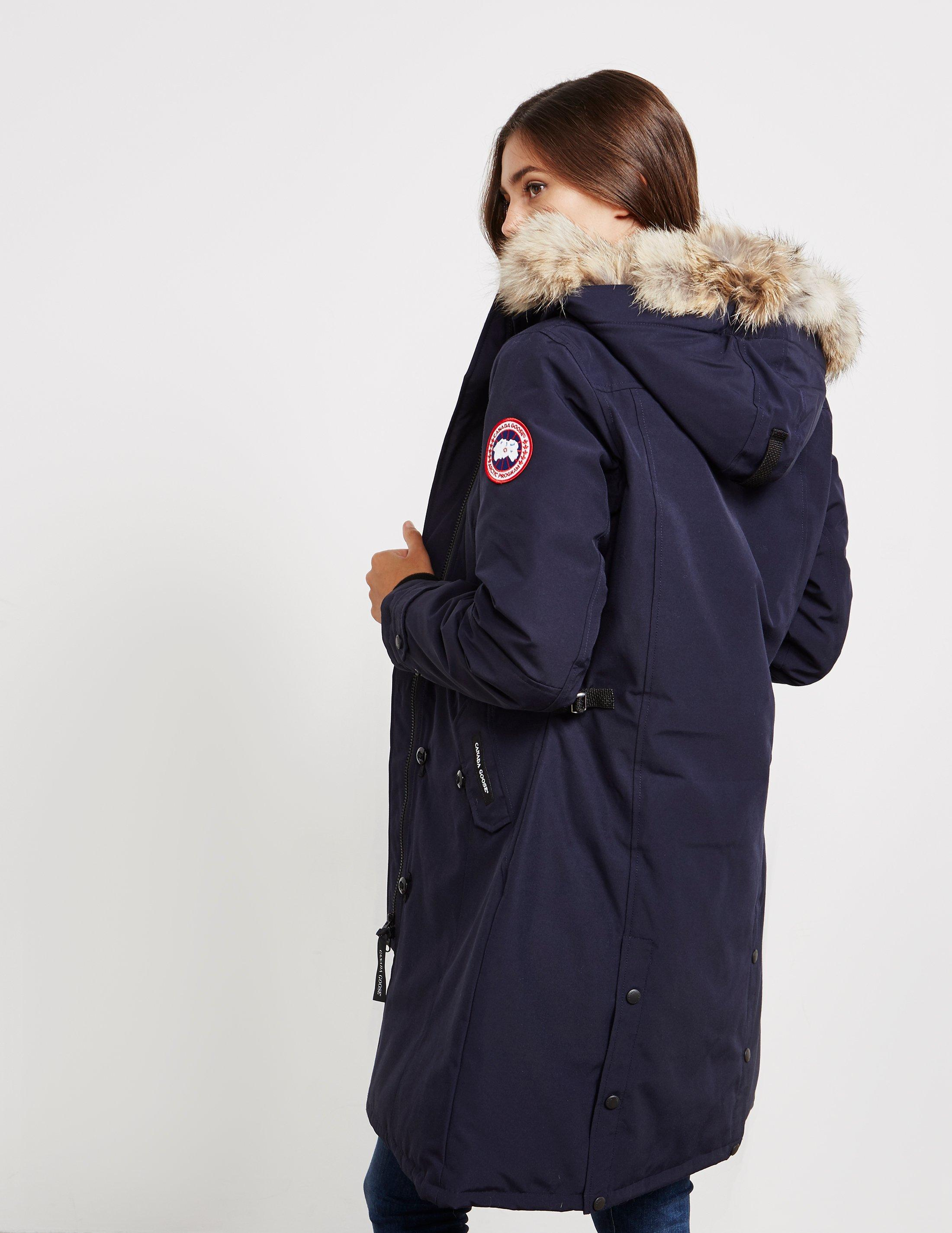 Lyst - Canada Goose Womens Kensington Padded Parka Jacket Blue in Blue 841bc410e6