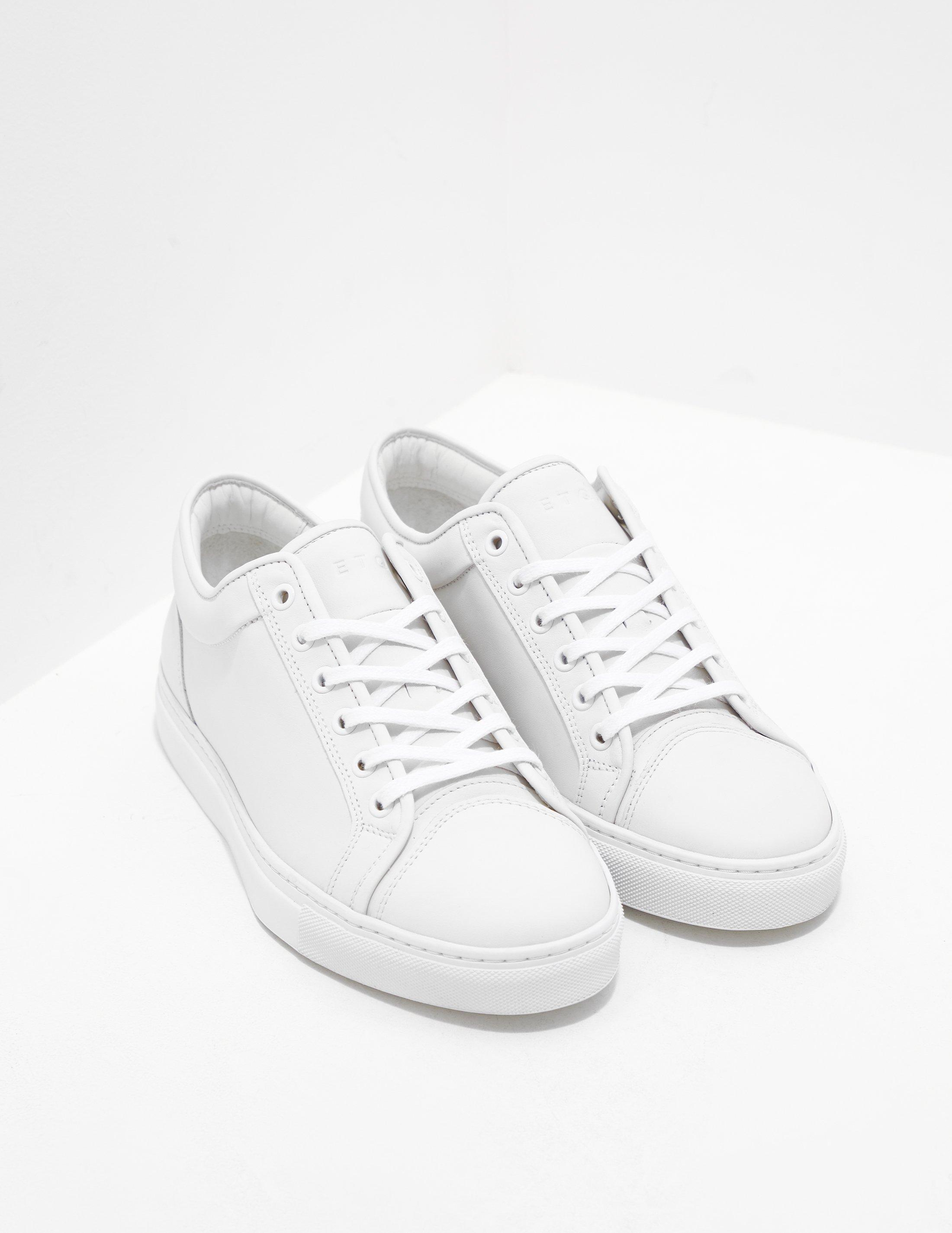 Etq Amsterdam Mens Low Top Trainers White in White for Men - Lyst af54692f47bc