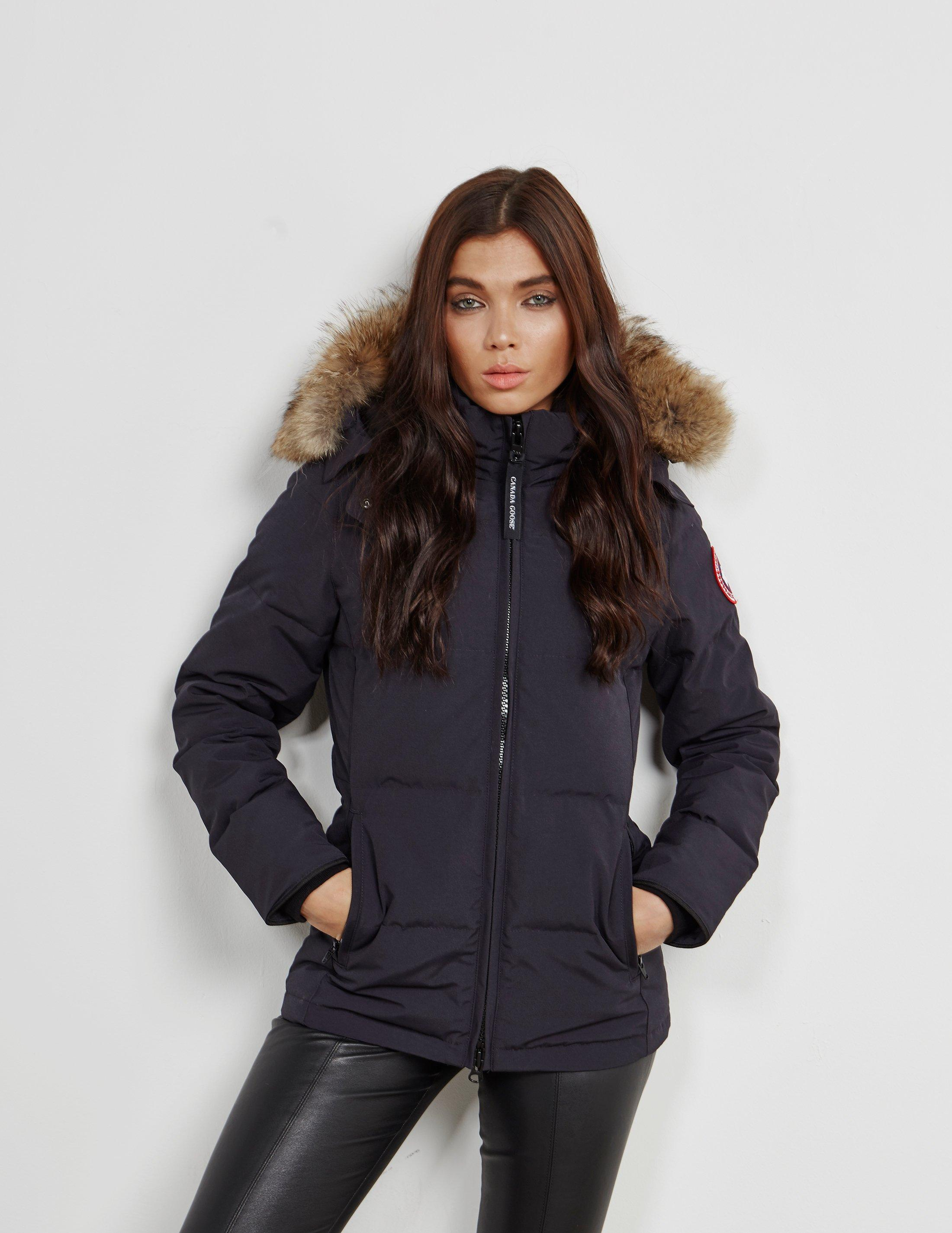 women's canada goose rossclair parka navy