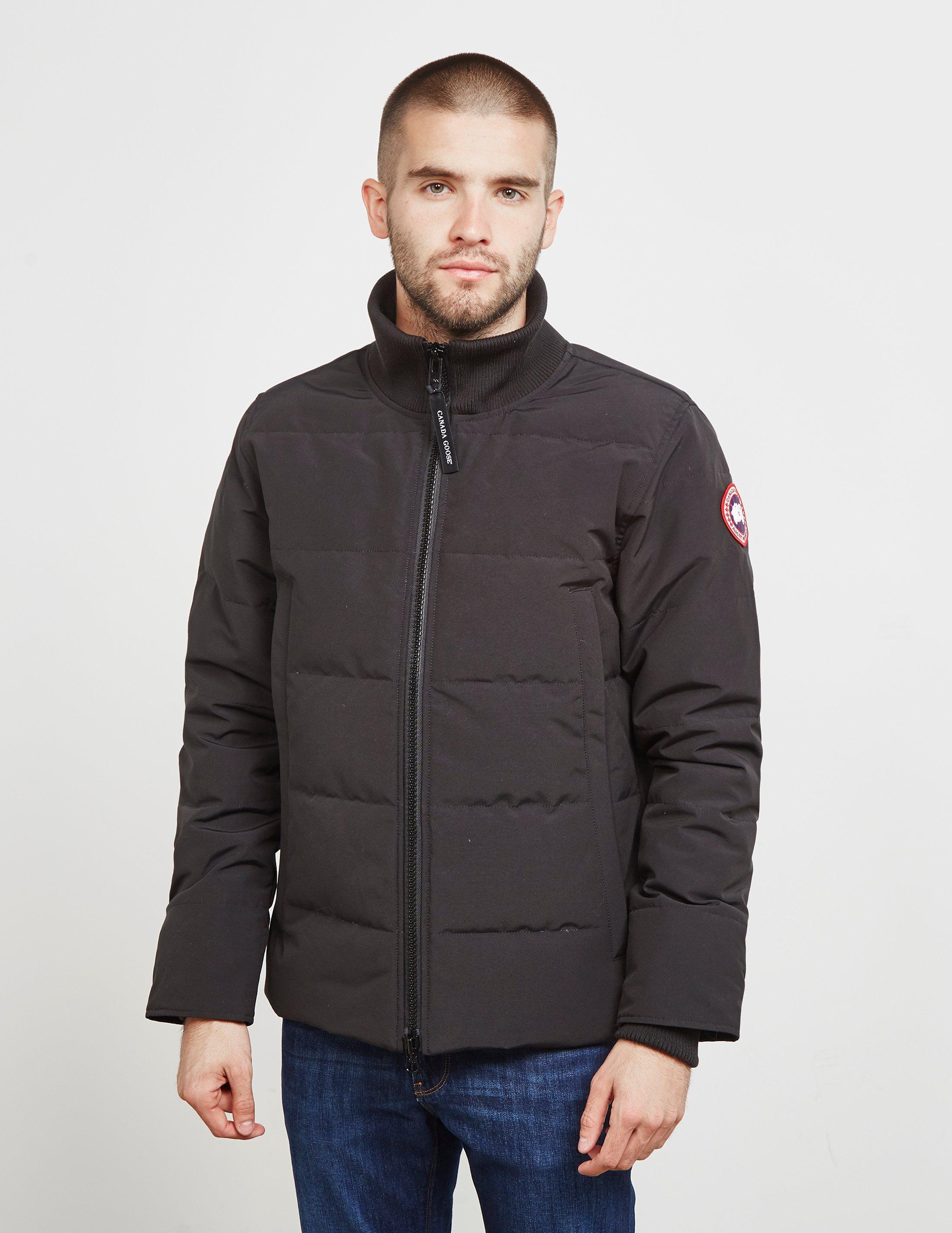 d76fa2f5941 Lyst - Canada Goose Woolford Jacket Black in Black for Men