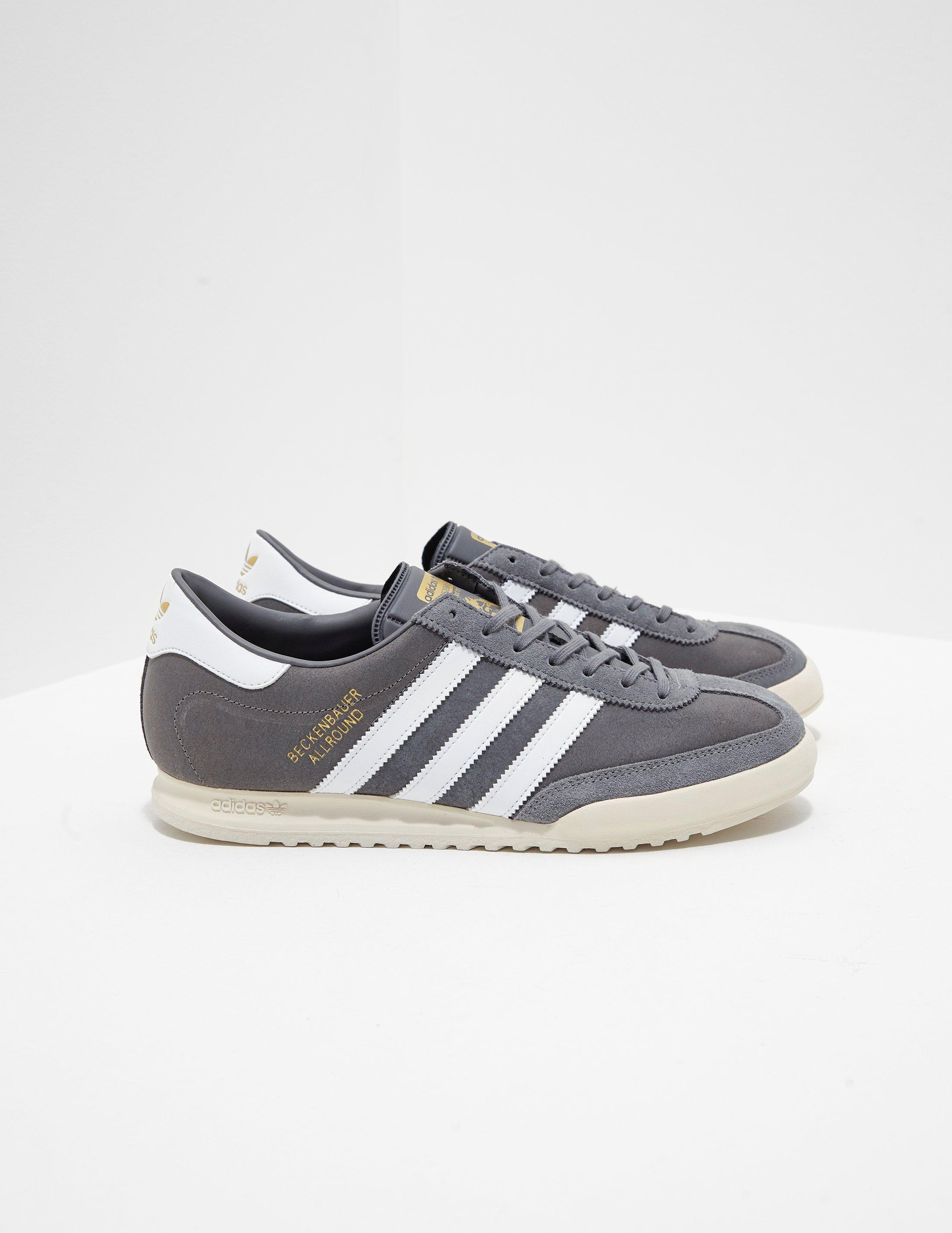 c1ce7dcbe0f1c Adidas Originals - Gray Beckenbauer - Exclusively To Tessuti Grey for Men -  Lyst. View fullscreen