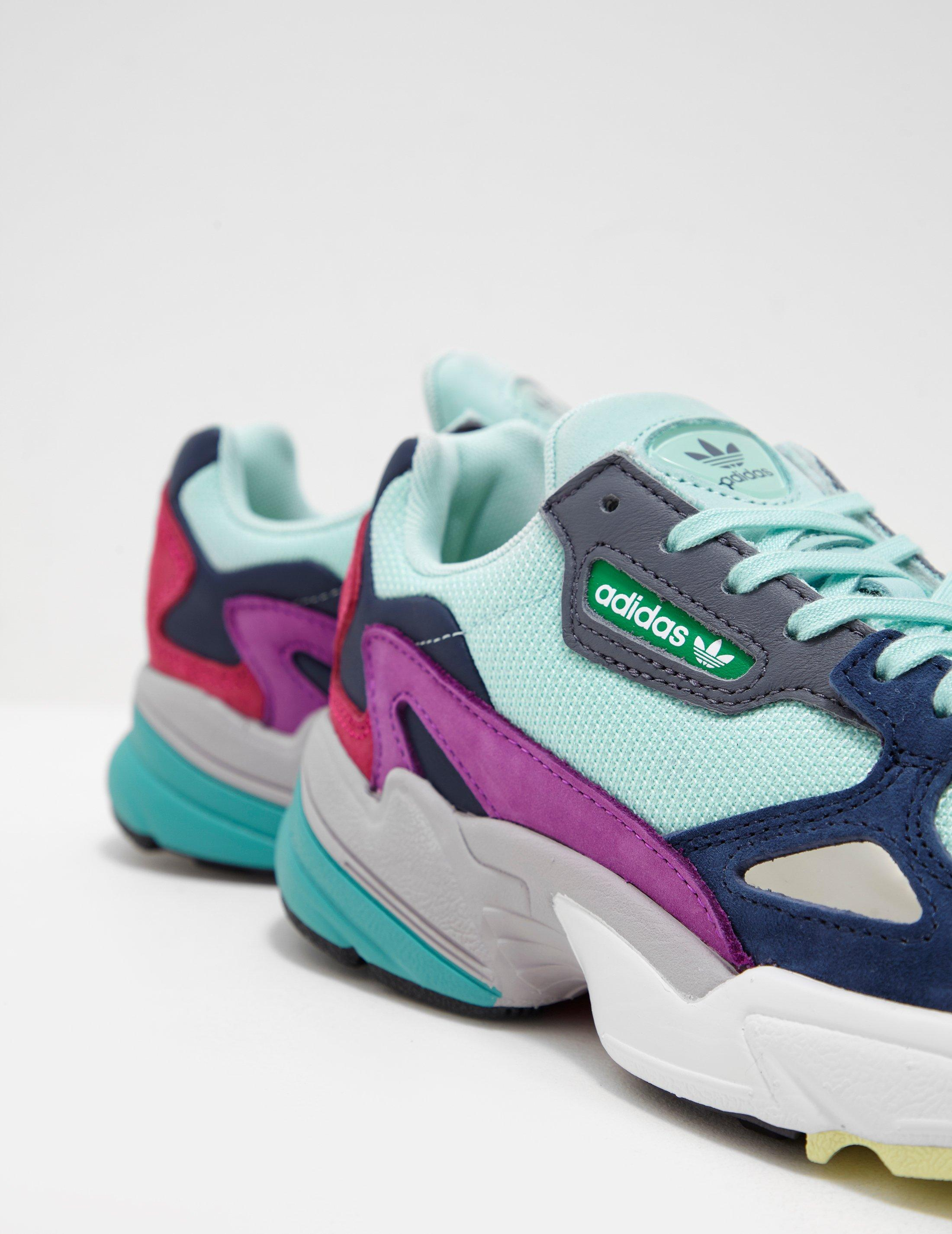 eaf356f552d adidas Originals Womens Falcon Women s Green in Green - Lyst