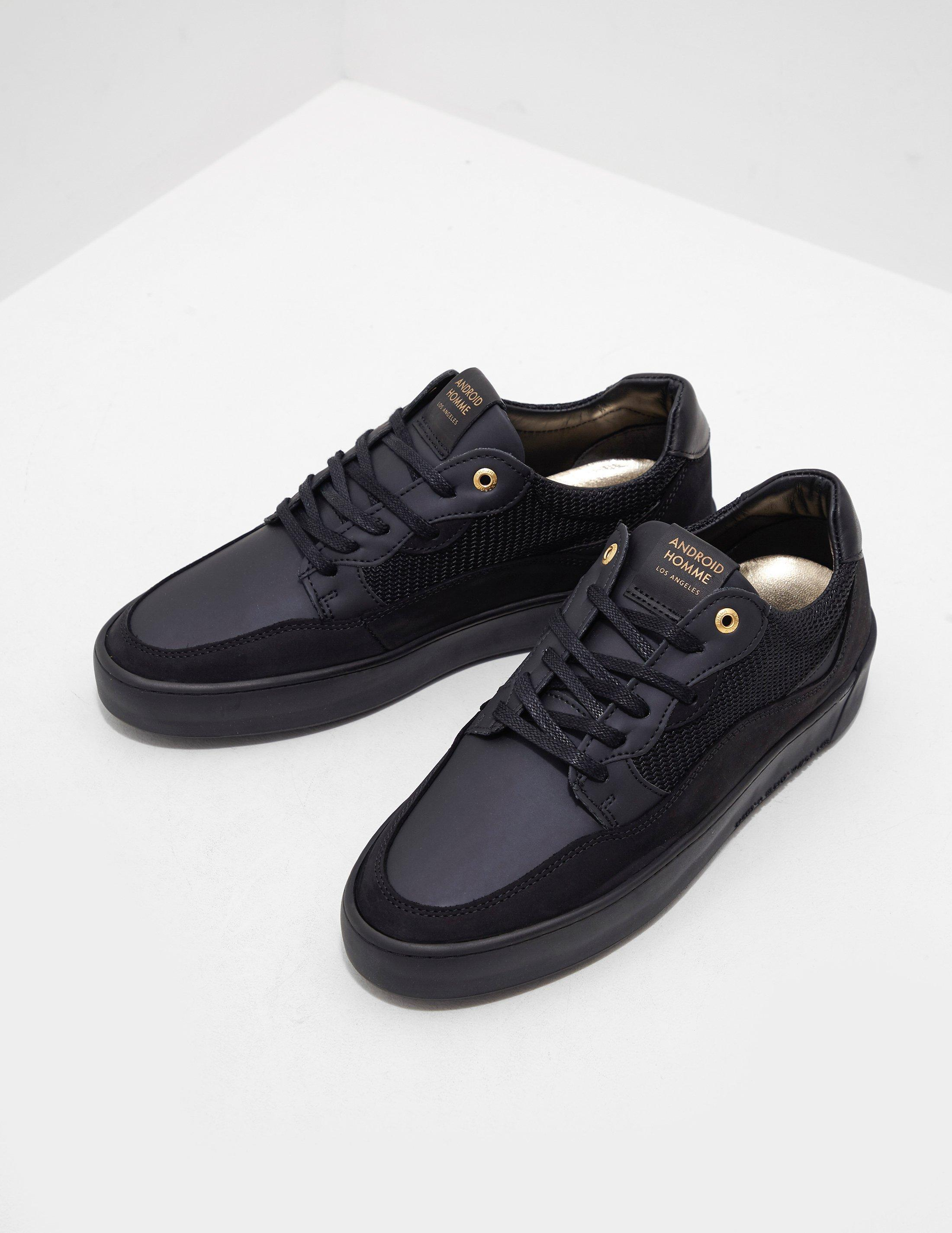5686ab8d2530 Lyst - Android Homme Omega Arc Trainers Black in Black for Men