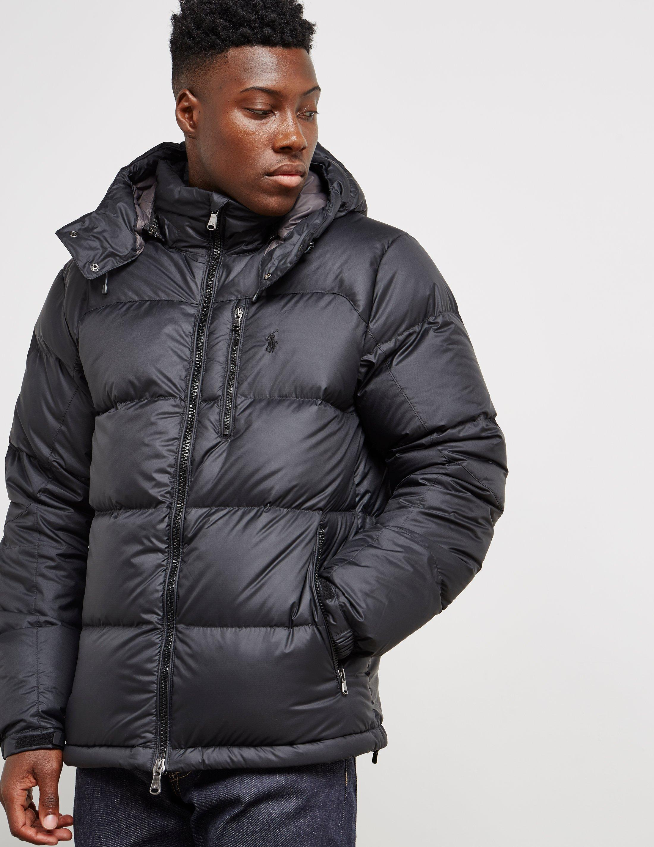 5000d56769f8 Lyst - Polo Ralph Lauren Down Padded Jacket Black in Black for Men ...