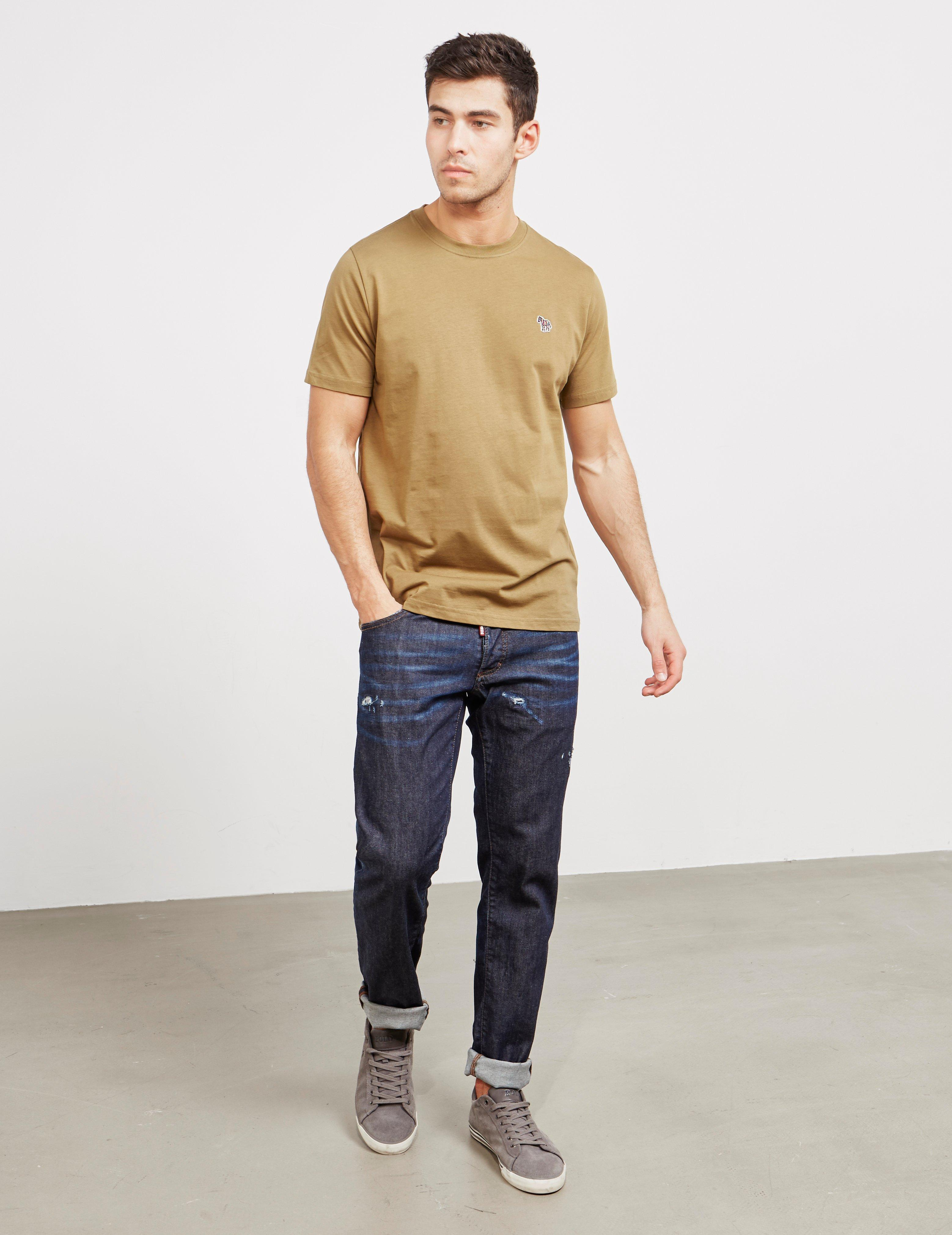 8693e40e6 PS by Paul Smith Basic Zebra Short Sleeve T-shirt Green in Green for Men -  Lyst