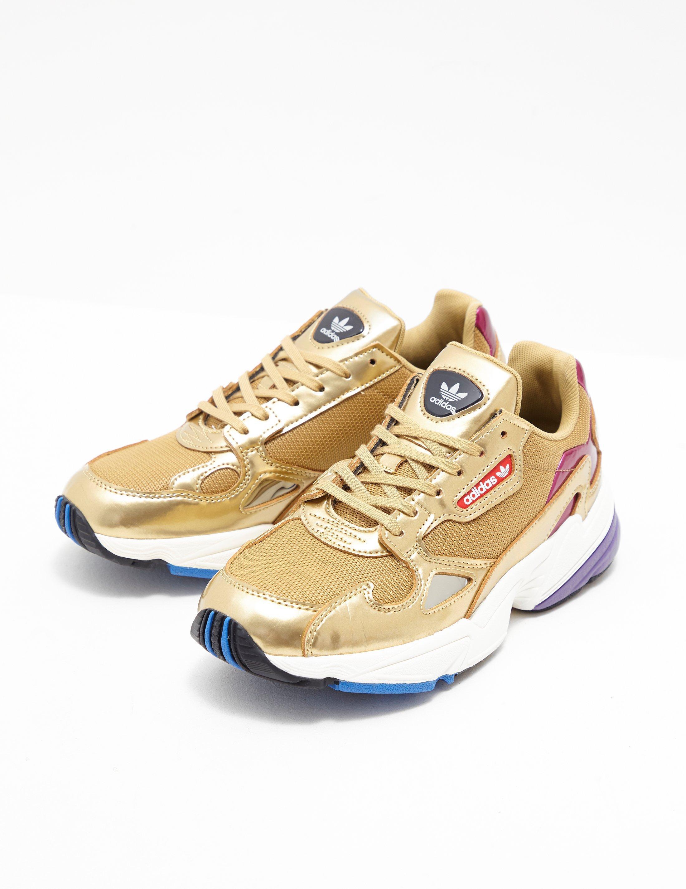 watch 5951a 74825 adidas Originals. Metallic Falcon Womens Gold