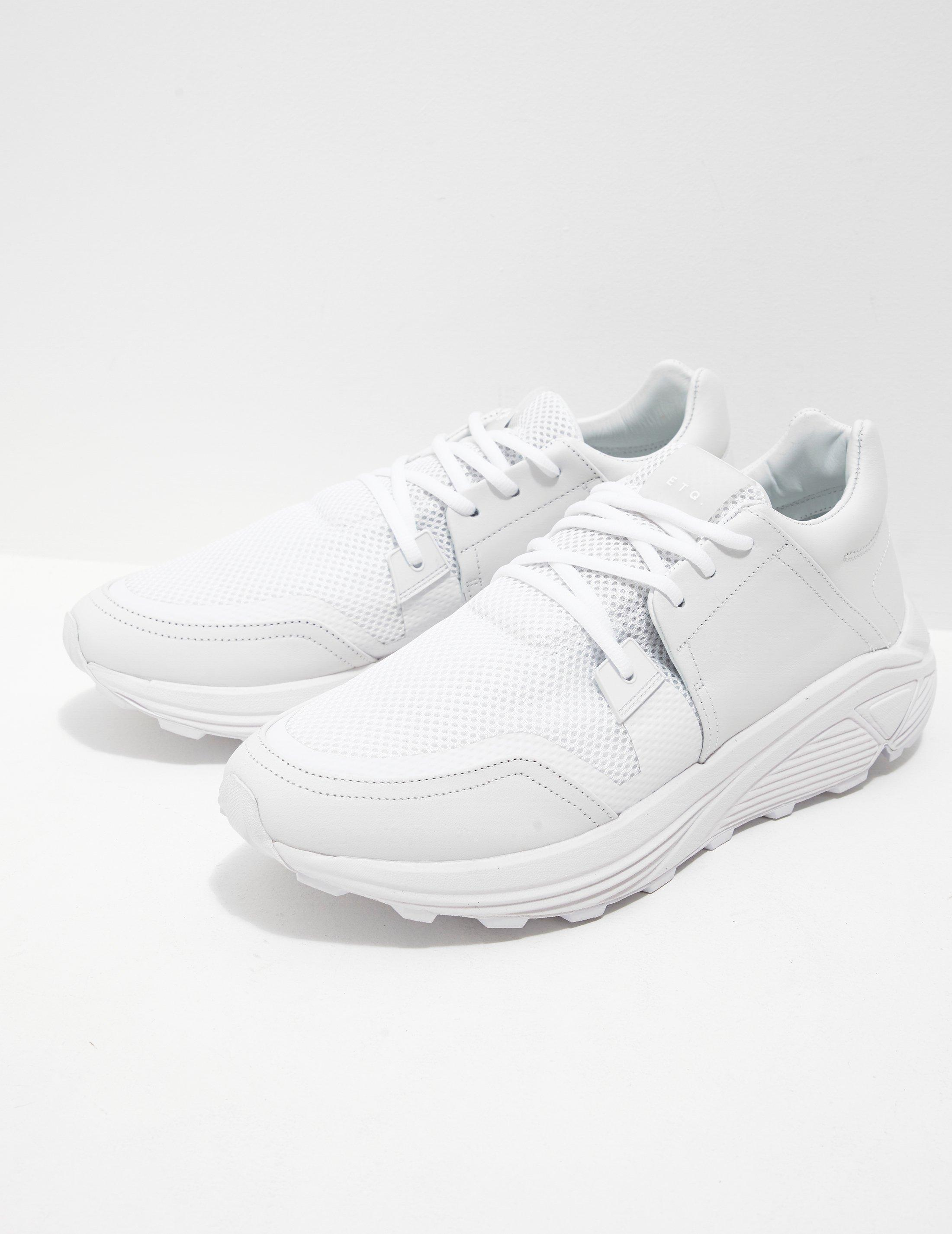 ETQ Amsterdam Mens Sonic Run White in White for Men - Lyst b2de2fc49cfd