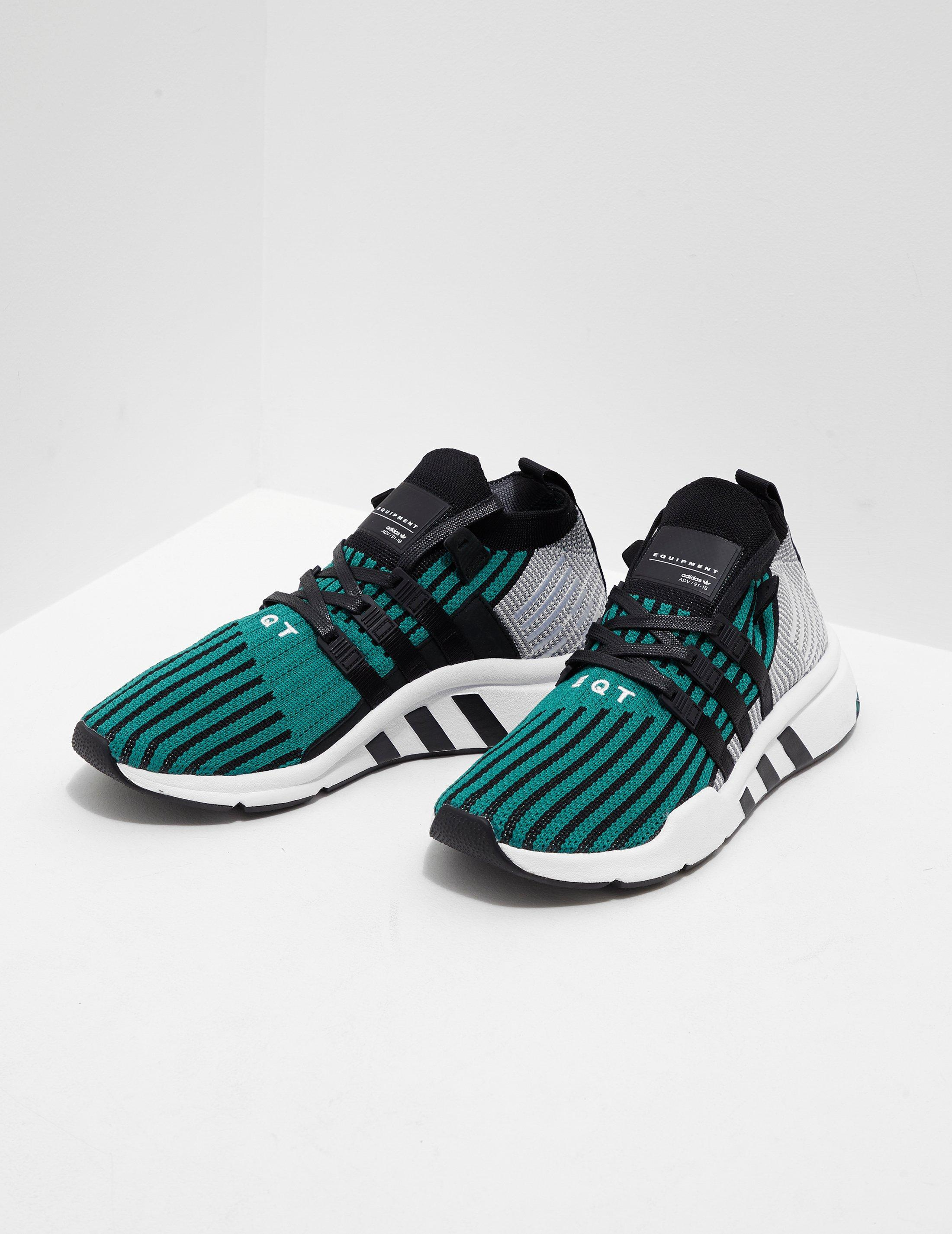 the best attitude bf08c 6cfb9 Lyst - adidas Originals Mens Eqt Support Mid Adv Blackgreen