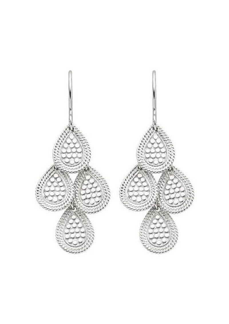 Anna Beck Women S Metallic Chandelier Earrings