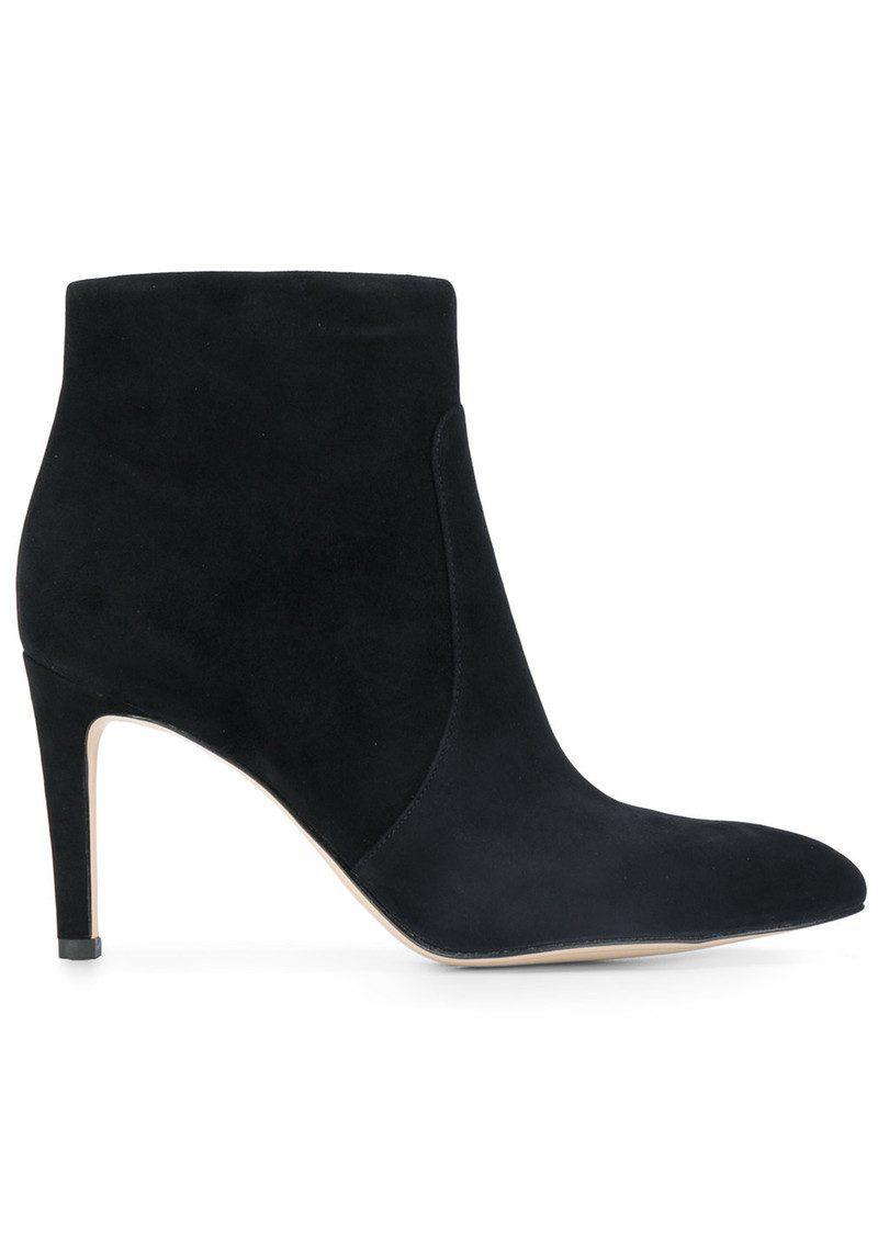 997f94011eb5c6 Lyst - Sam Edelman Olette Suede Boots in Black