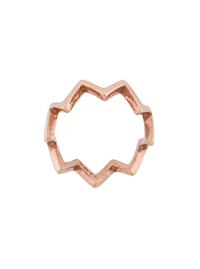 Federica Tosi pyramid ring - Metallic gknxxh