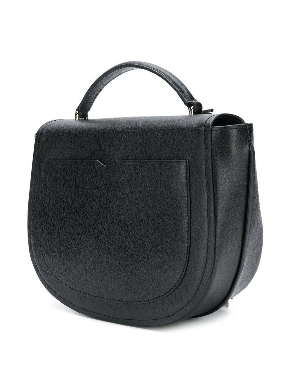 ... Black Hudson Top Handle Saddle Bag - Lyst. View fullscreen 00fc127545dd9
