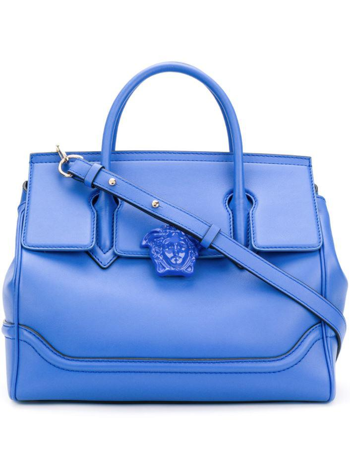 50dc721ace51 Versace - Palazzo Empire Tote in Blue - Lyst