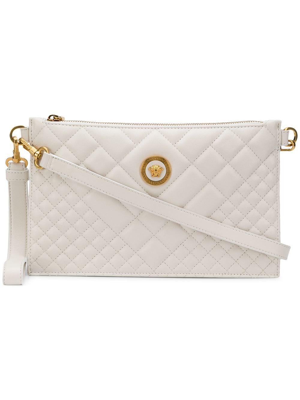 e727a8c779 Versace. Women s Quilted Medusa Clutch Bag