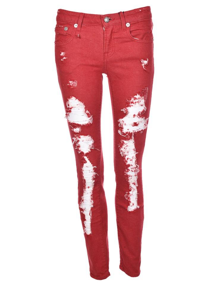 Kate skinny jeans - Red R13 Newest For Sale Huge Surprise Cheap Buy NL99Ok5