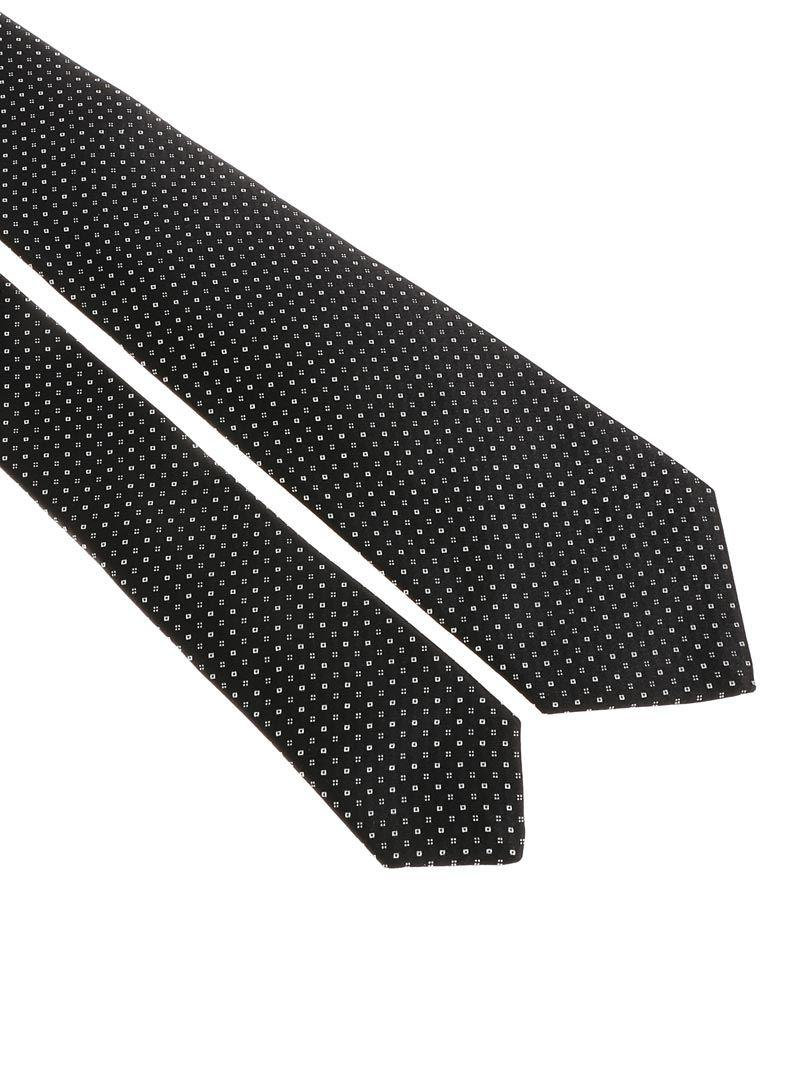 Black tie with micro pattern Kiton Buy Cheap Explore Cheap Really Comfortable Online XqQCEueN