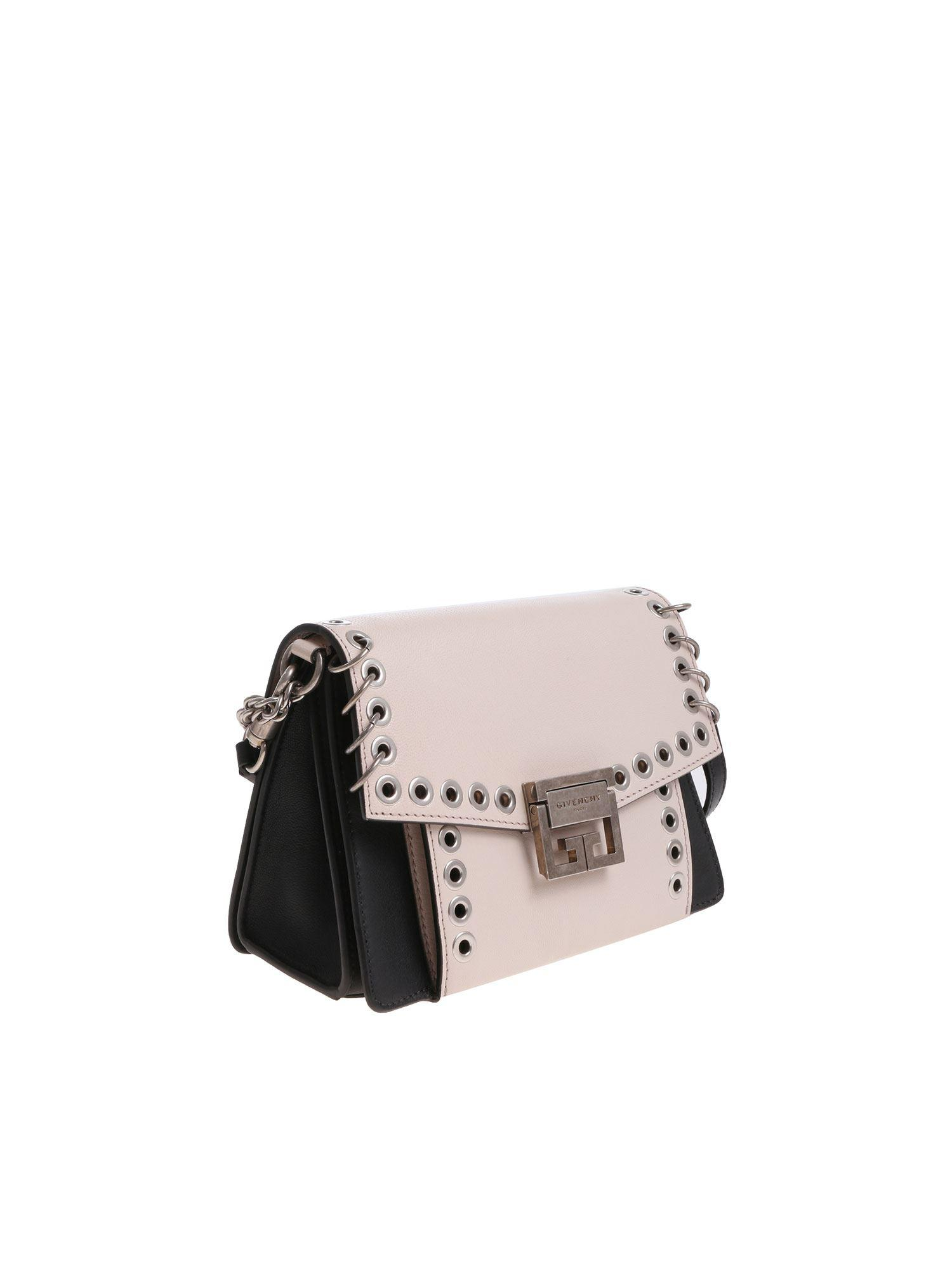 9e39bec531a5 Lyst - Givenchy Two-colored Bag With Metal Details - Save ...