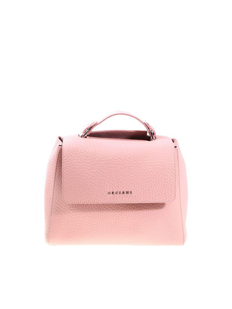 d5845133352b Orciani Pink Sveva Small Bag in Pink - Lyst