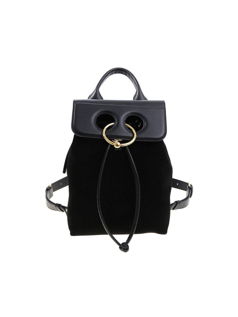 c509d1e6f747 Lyst - J.W. Anderson Black Suede Backpack (unisex) in Black