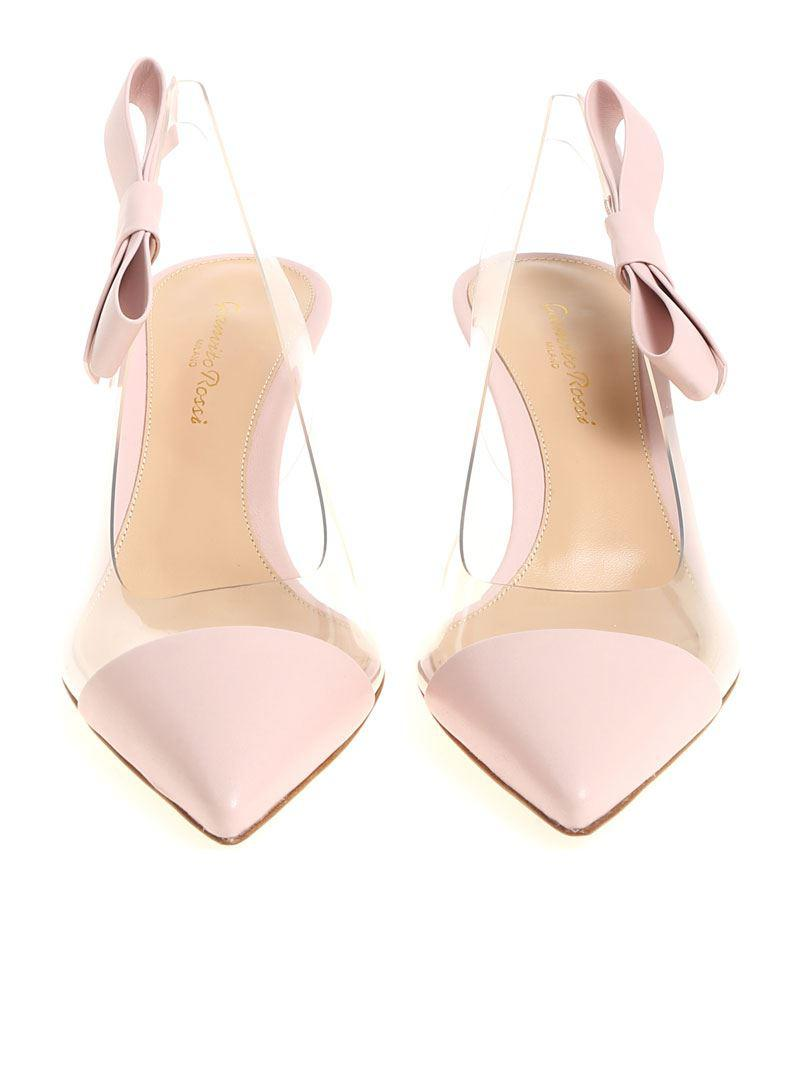4ebe6140a6 Lyst - Gianvito Rossi Pink Mia Shoes in Pink