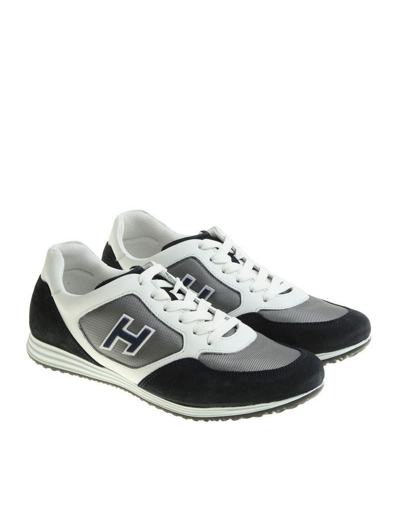 Blue and white H205 Olympia sneakers Hogan s35QIG