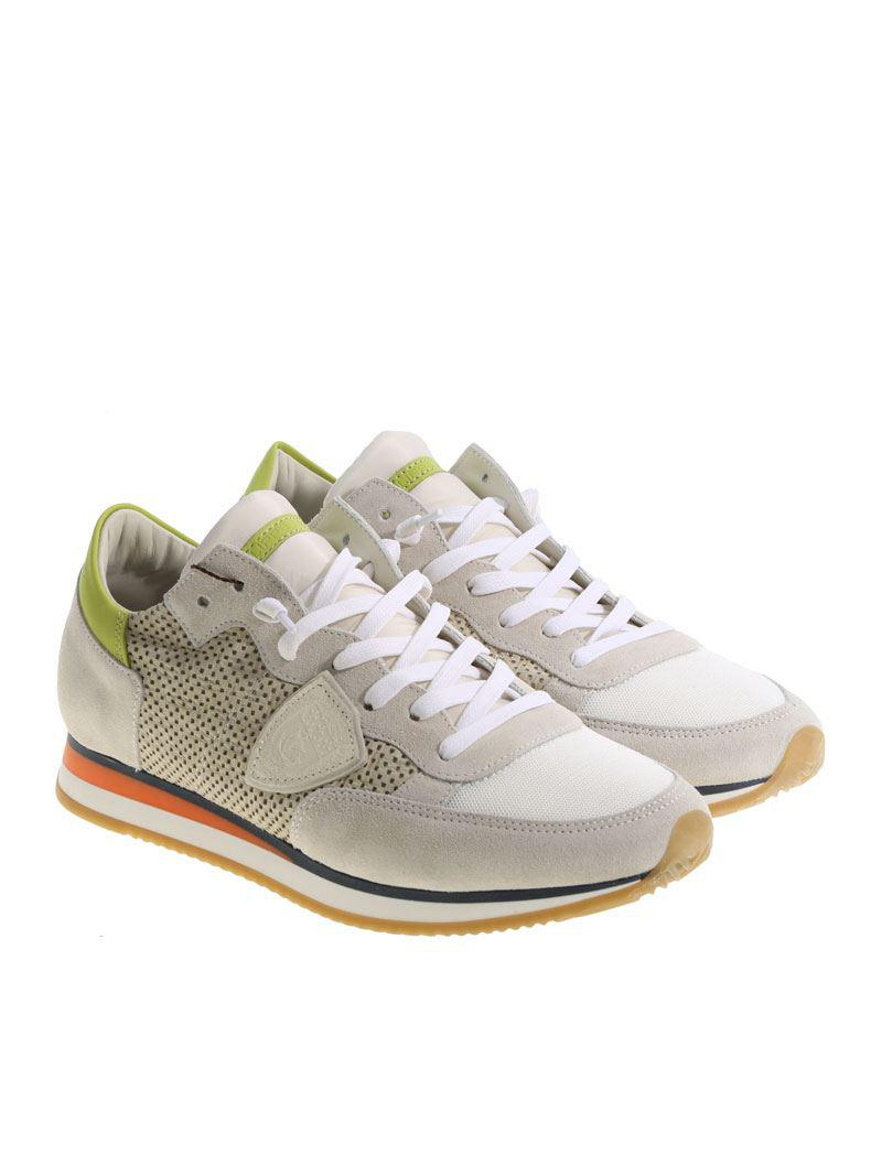 Gray Tropez L sneakers Philippe Model Cheap Pictures Clearance Cheapest Price Outlet Best Place Discount Best Seller pspBVx