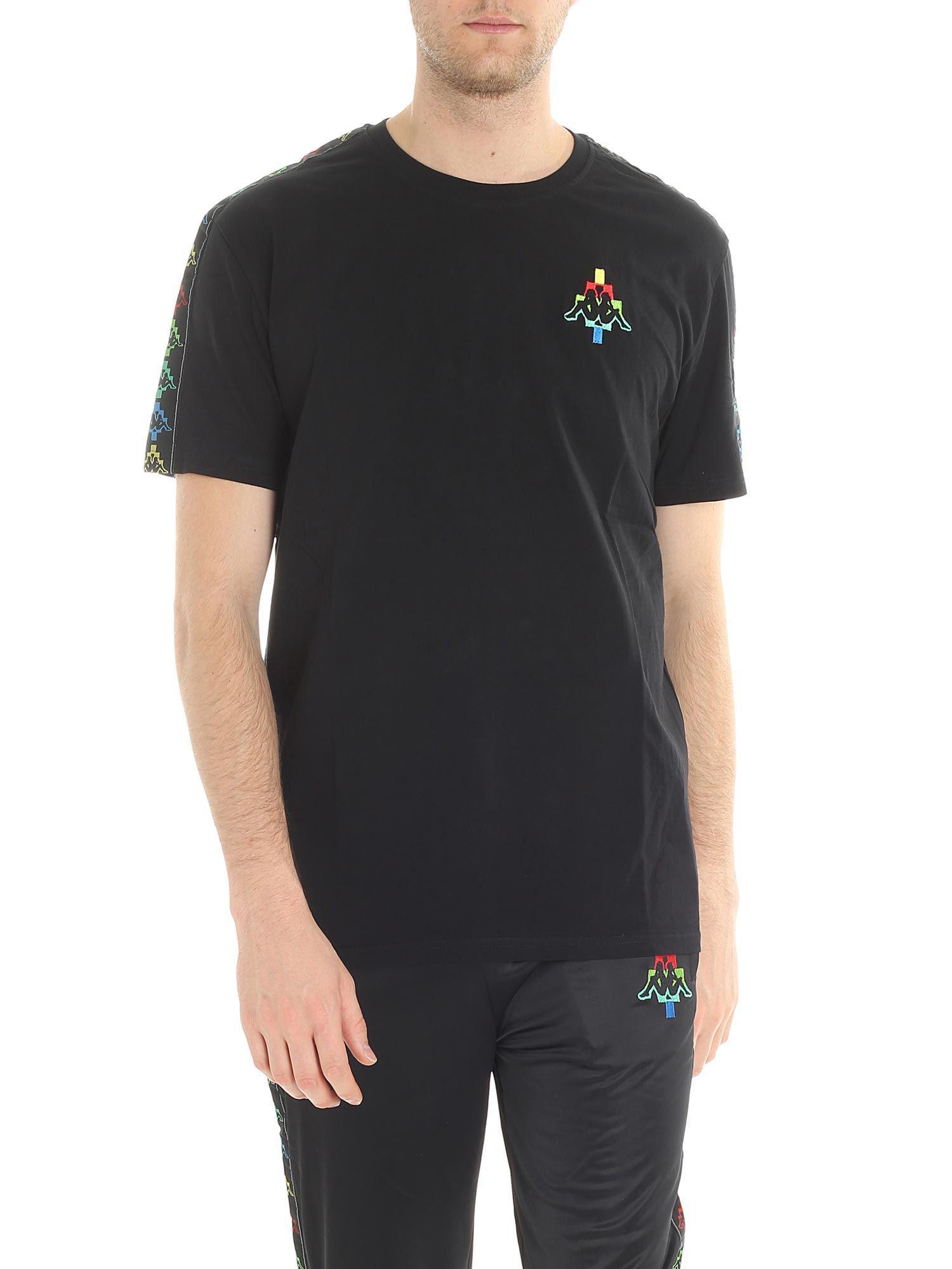 3e4f0cbacd18 Lyst - Marcelo Burlon Black Kappa T-shirt in Black for Men