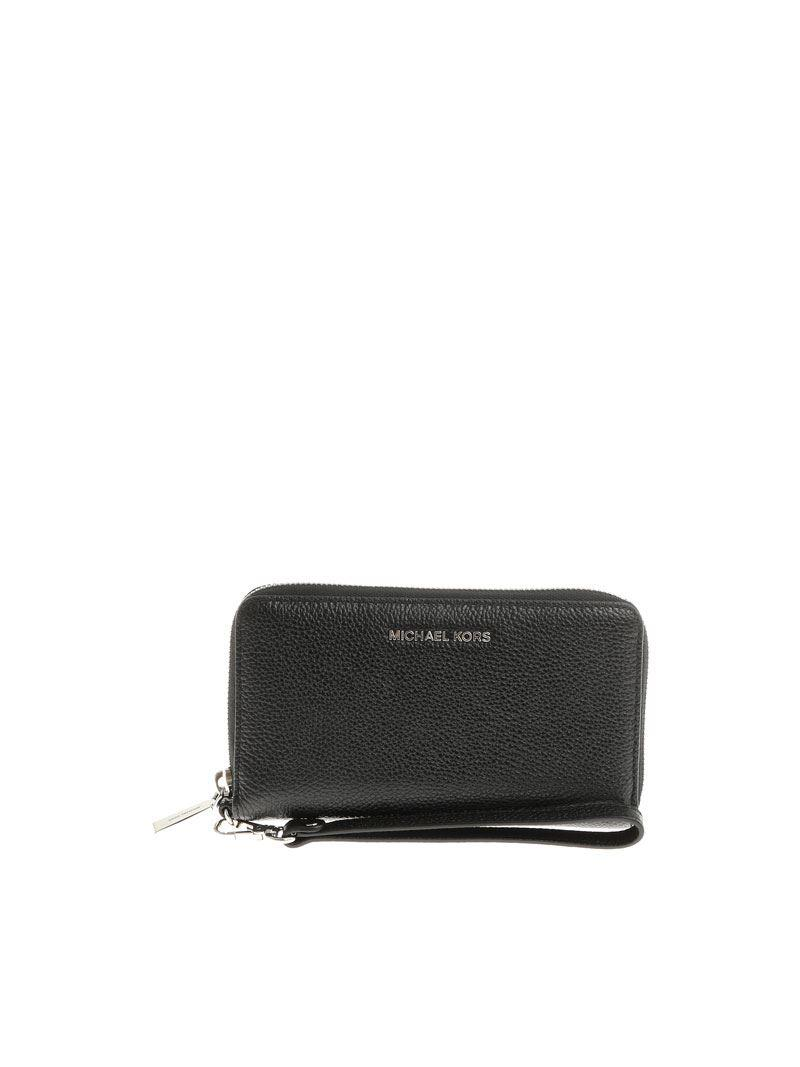 Black wallet with removable handle Michael Kors q6YJeJC0p