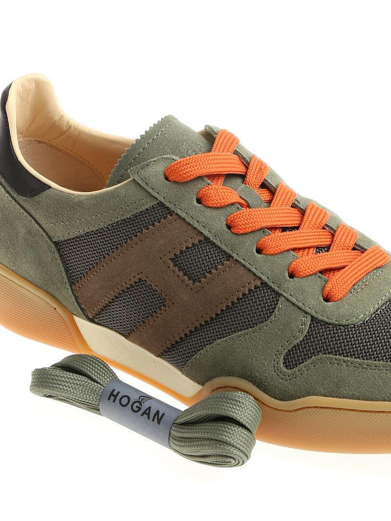 Army green H357 sneakers Hogan kzwsW
