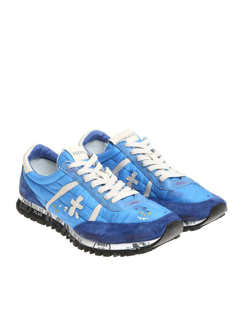 Blue Sean sneakers Premiata w9QuOawJUv