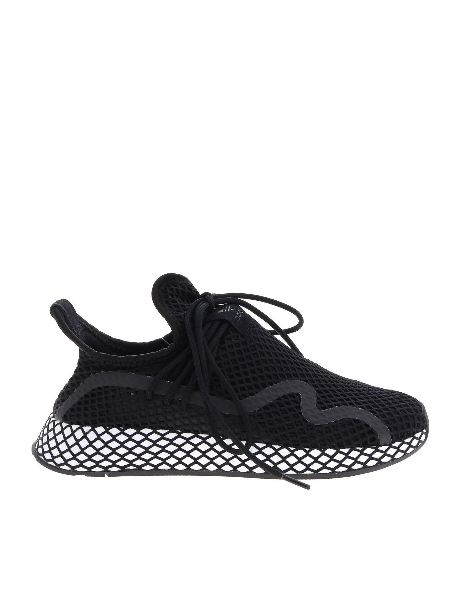 9ff8589bb Lyst - adidas Originals Deerupt S Sneakers In Black in Black for Men