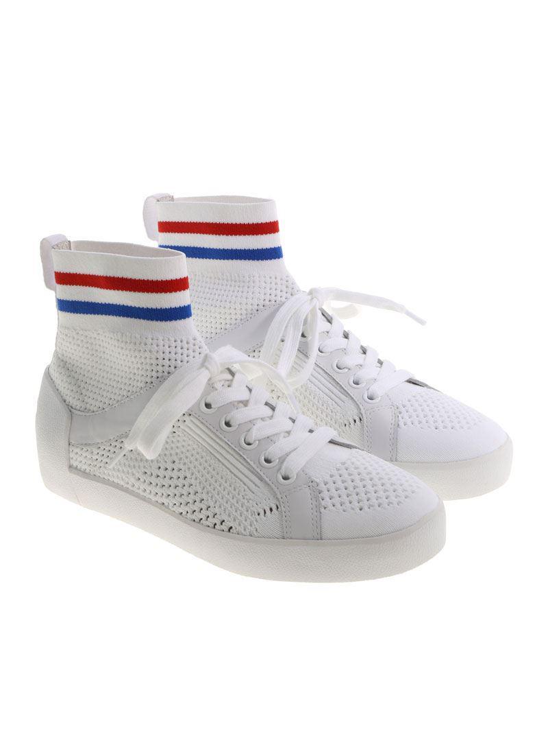 White Ninja pierced sneakers Ash uSCXVq