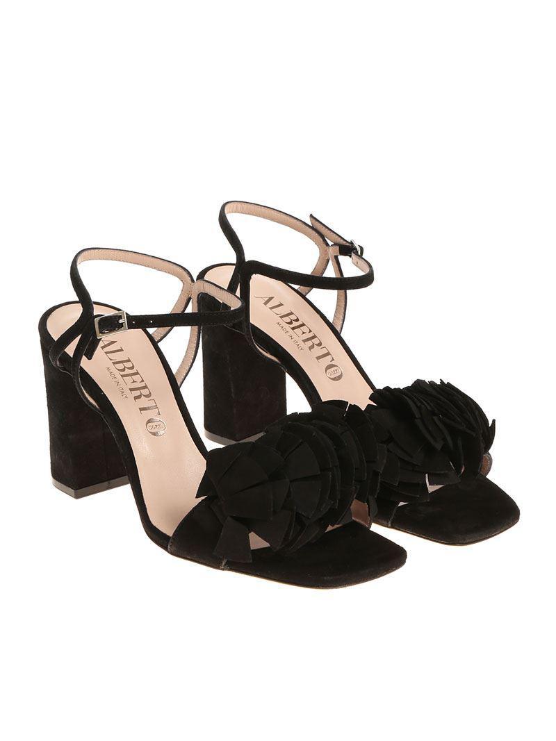 Alberto Gozzi. Women's Black Beck Sandals